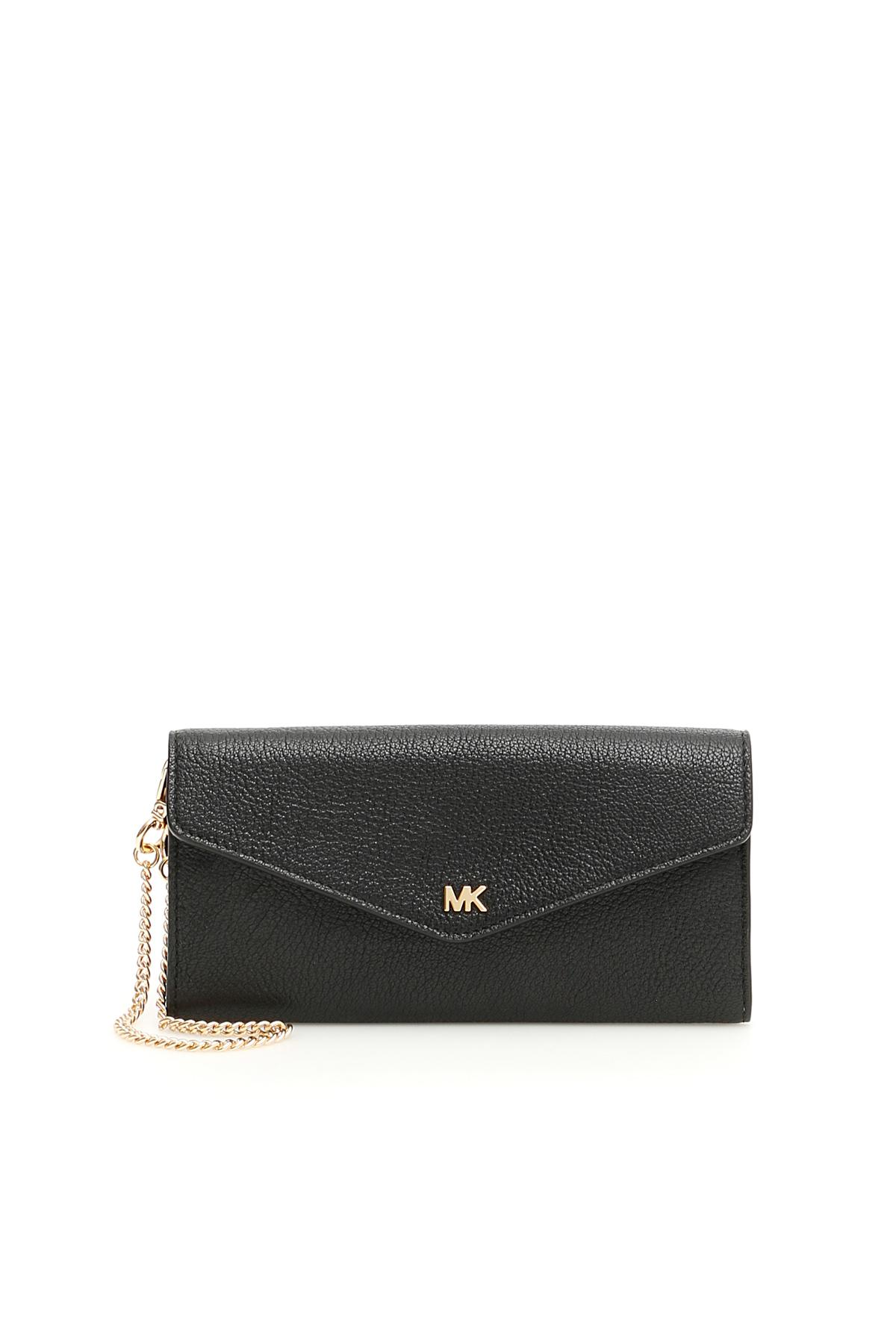 035650b90 Lyst - MICHAEL Michael Kors Wallet On Chain in Black