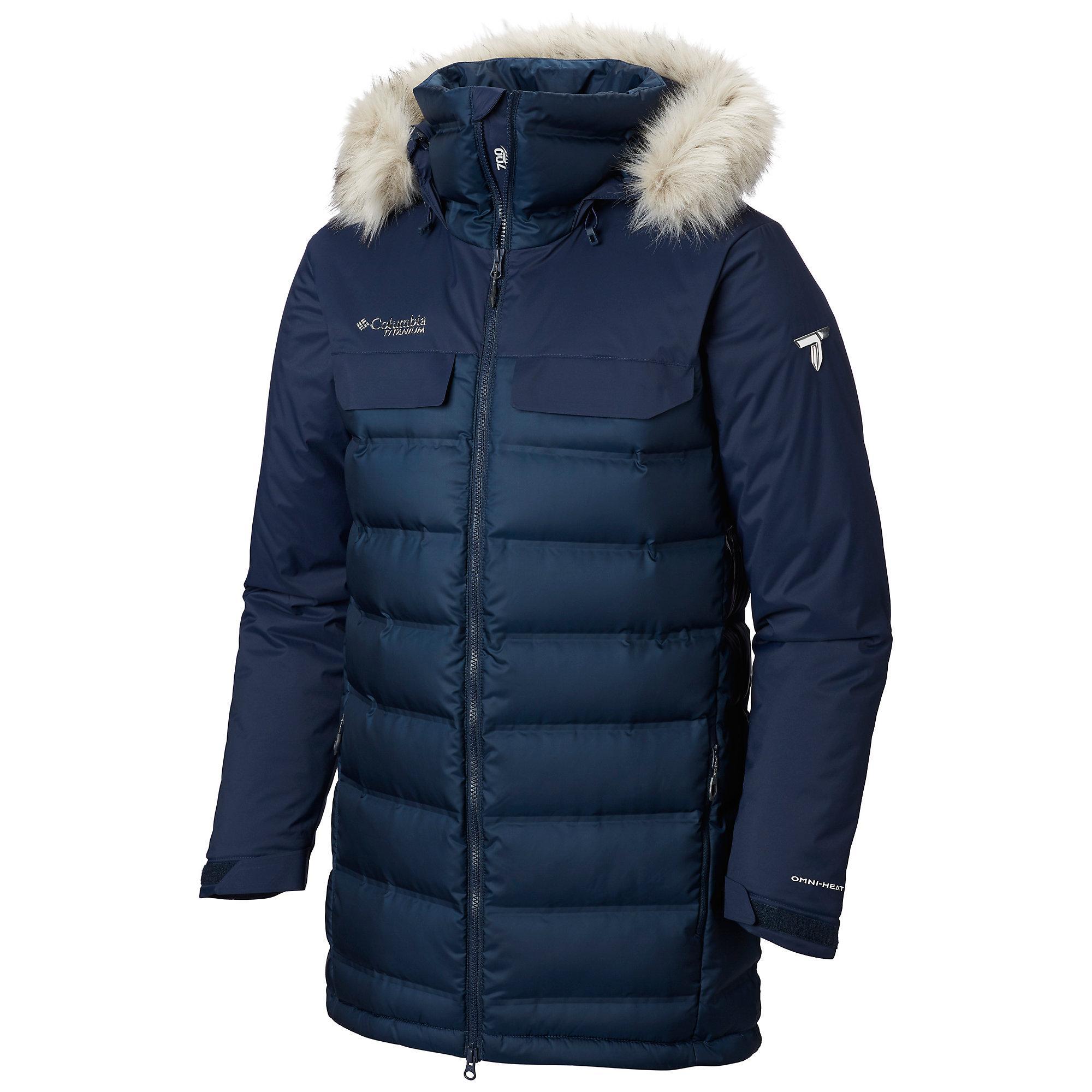 cb292027bb Columbia - Blue Mens Winter Media Jacket for Men - Lyst. View fullscreen