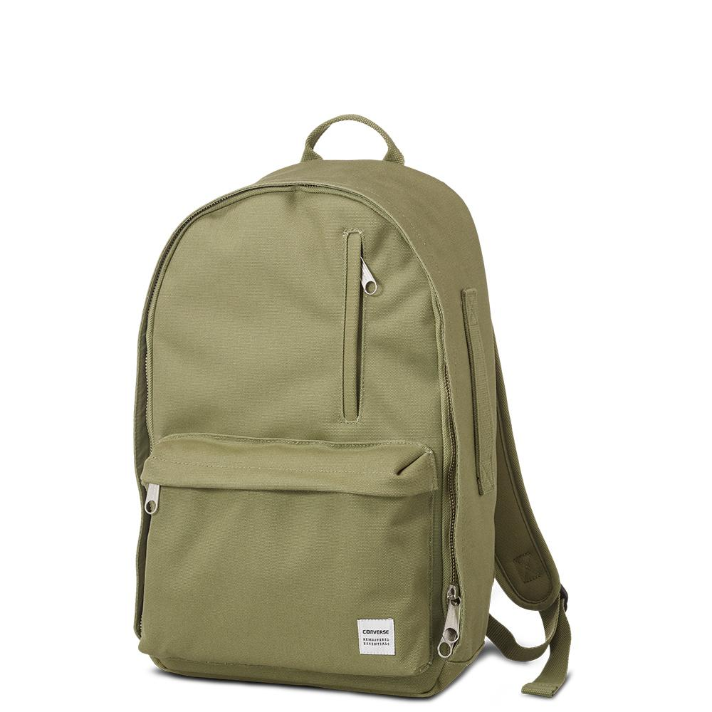 cb84375770 Converse All Star Essentials Backpack in Green for Men - Lyst
