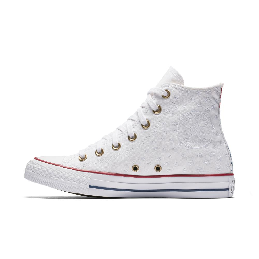 Lyst - Converse Chuck Taylor All Star Americana Embroidery High Top ... b9c31f6c5