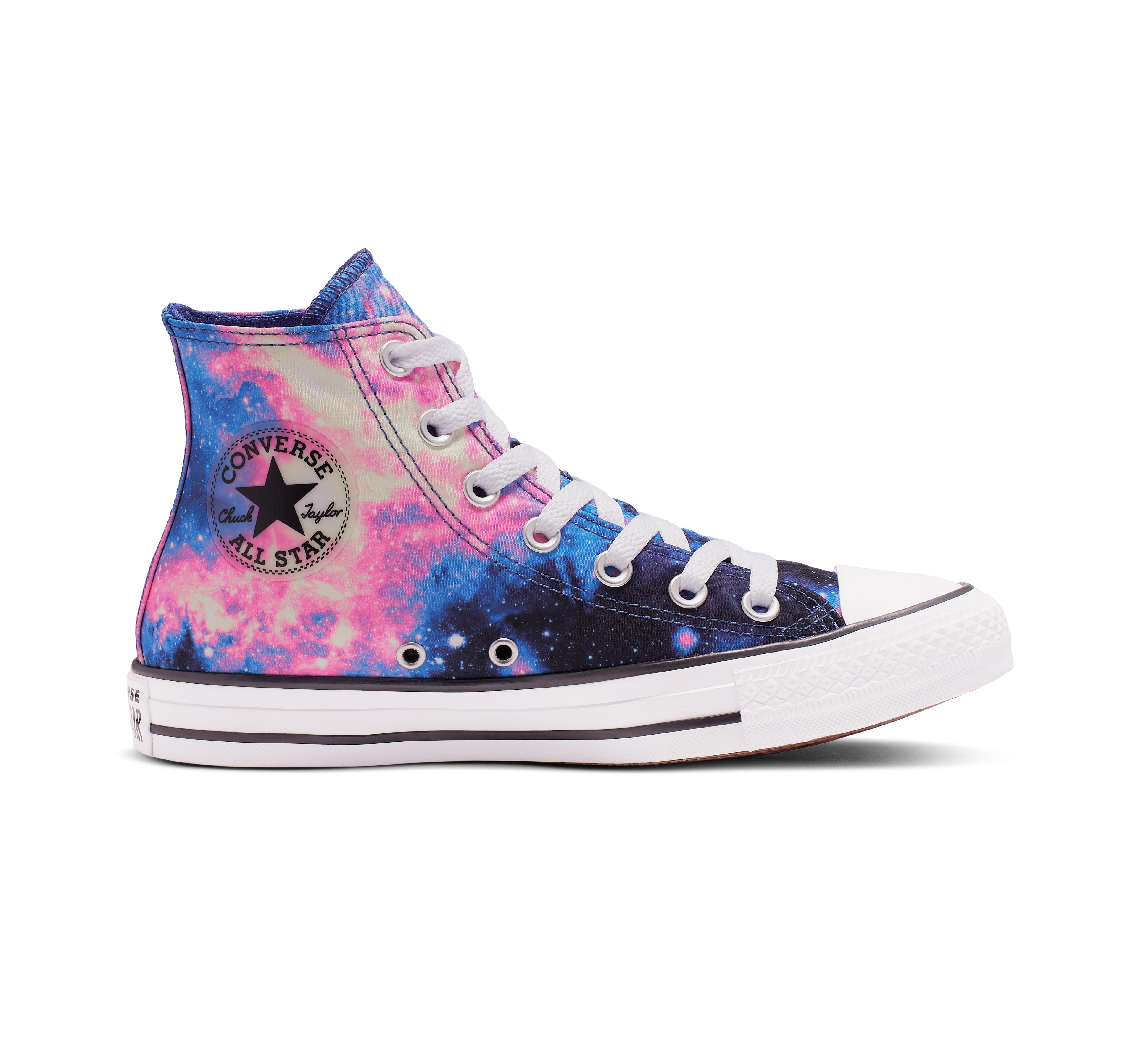 Converse Blue Chuck Taylor All Star Miss Galaxy High Top Lyst