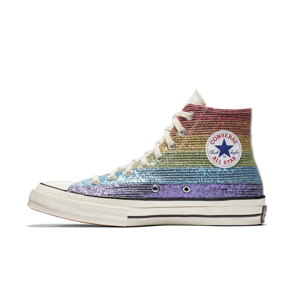 dc605238a45 Lyst - Converse Pride X Miley Cyrus Chuck 70 High Top Shoe in Blue