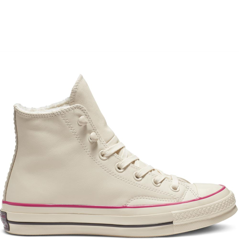 1b976e7c1617 Converse Chuck 70 Street Warmer Leather High Top in White - Lyst