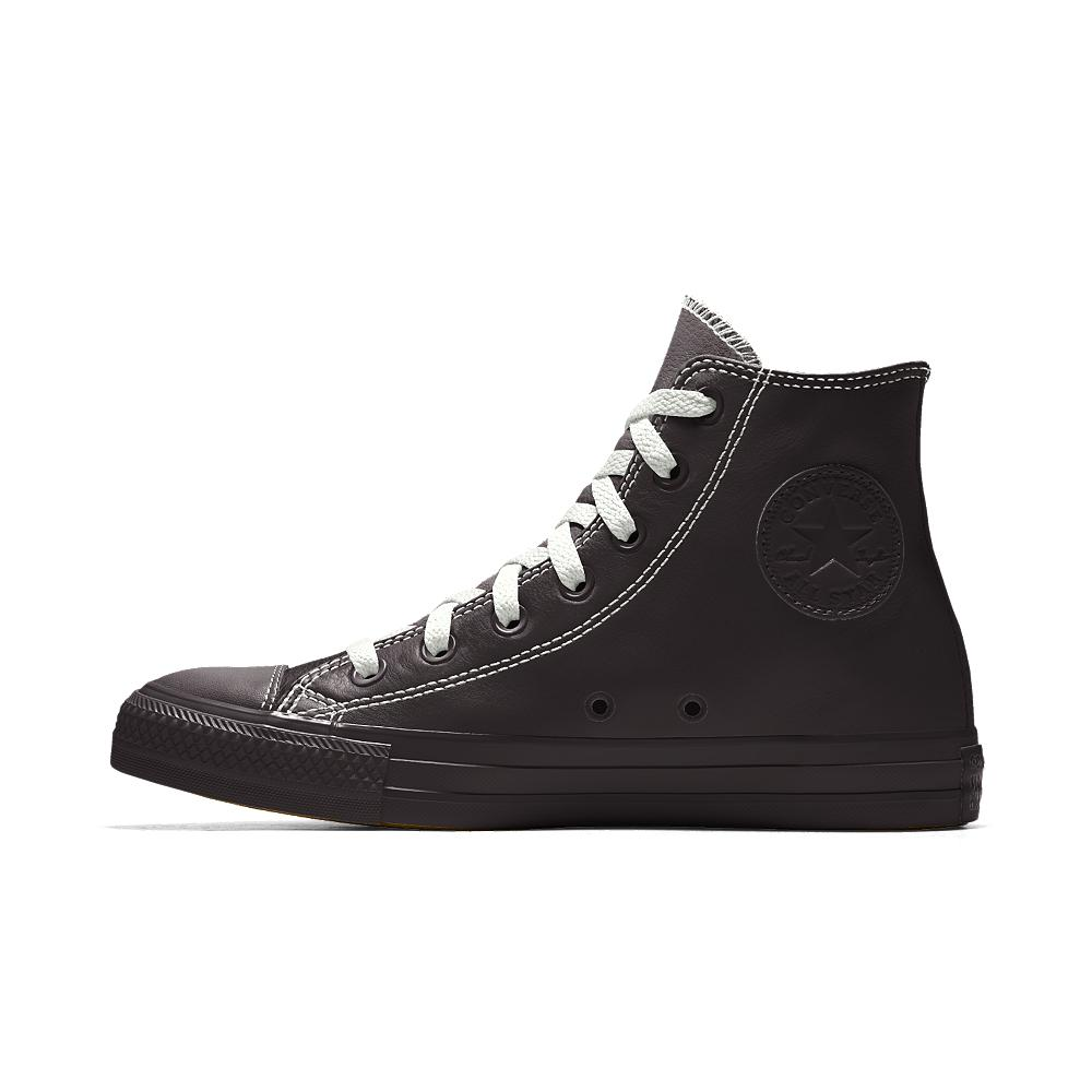 ea13ac68d852 Lyst - Converse Custom Chuck Taylor Premium Leather High Top Shoe in ...