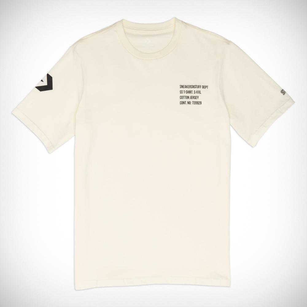025ad3b0eb21 Converse X Sneakersnstuff Short Sleeve Tee in White for Men - Lyst
