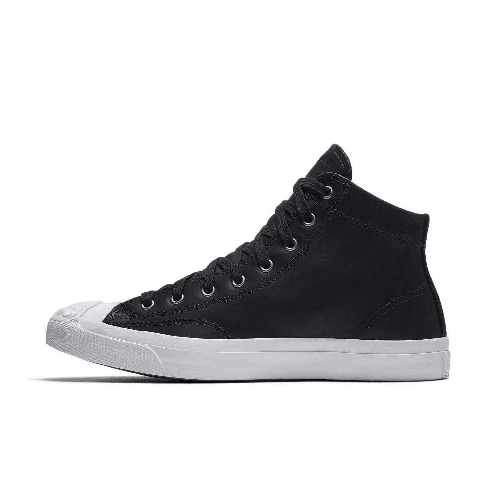 cc76a8531858 Lyst - Converse Jack Purcell Mid Boot Leather High Top Men s Shoe in ...