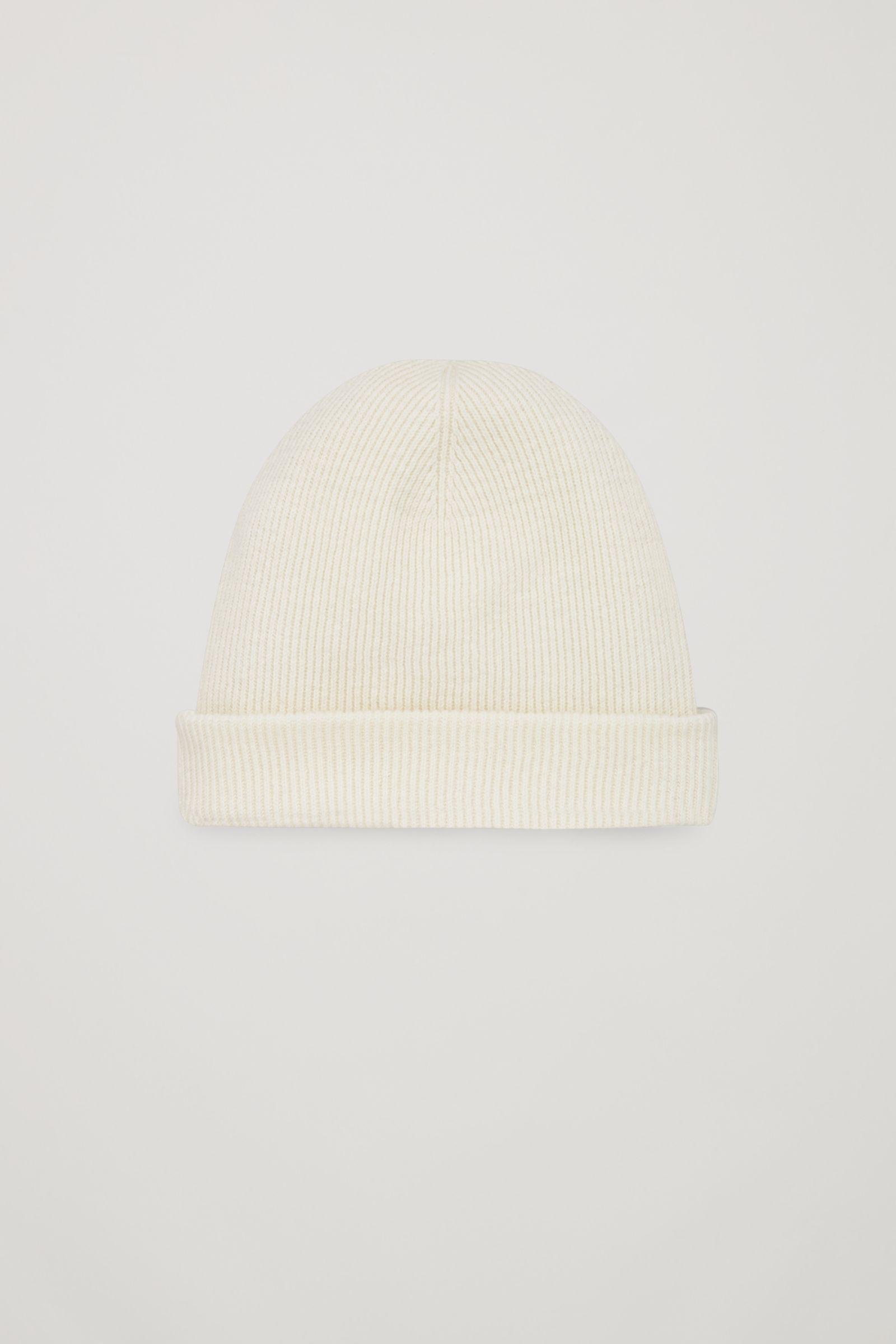 COS Wool-blend Skull Hat in Natural for Men - Lyst 68766dc5fe7c