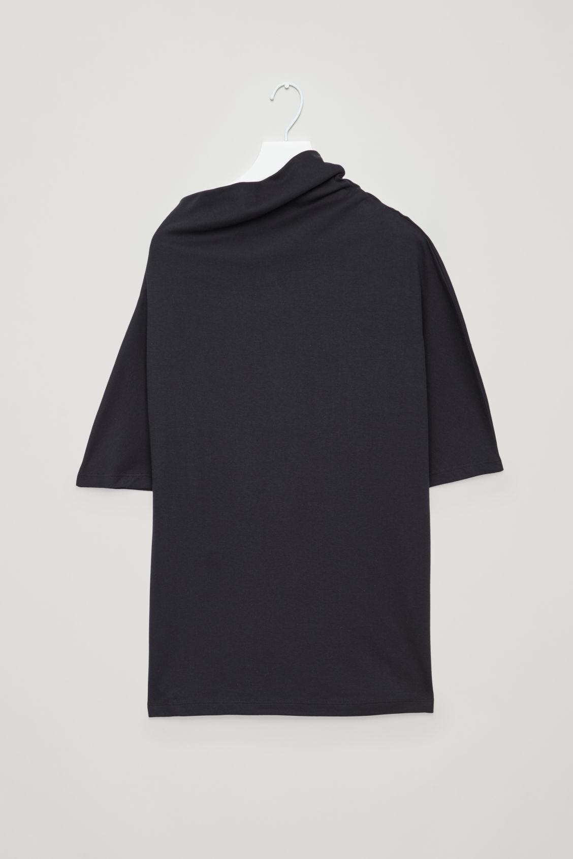 56b74ecf9011 Lyst - Cos Asymmetric T-shirt in Blue