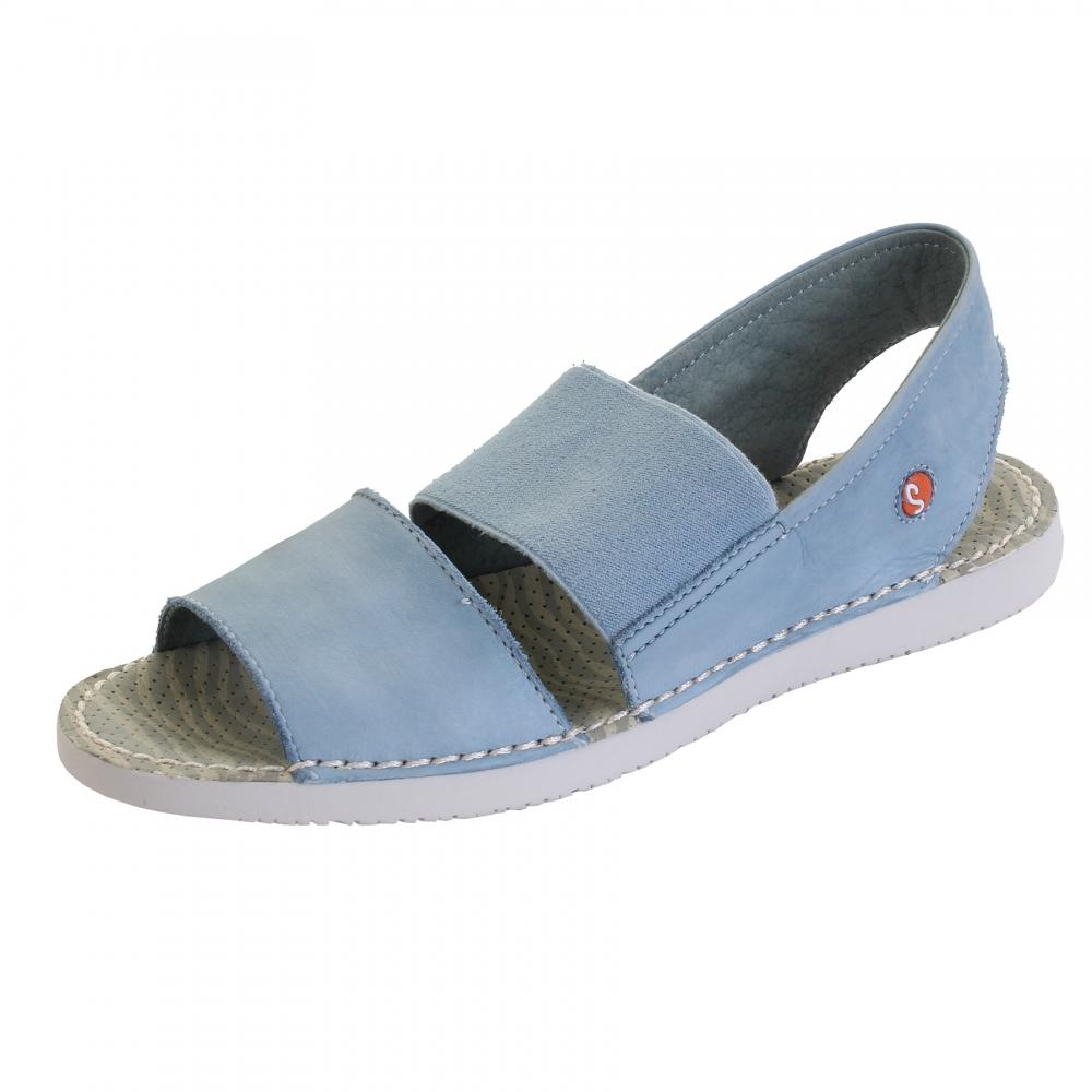 9c2987ec8ef Softinos Tai383sof Washed Leather Womens Sandal in Blue - Lyst