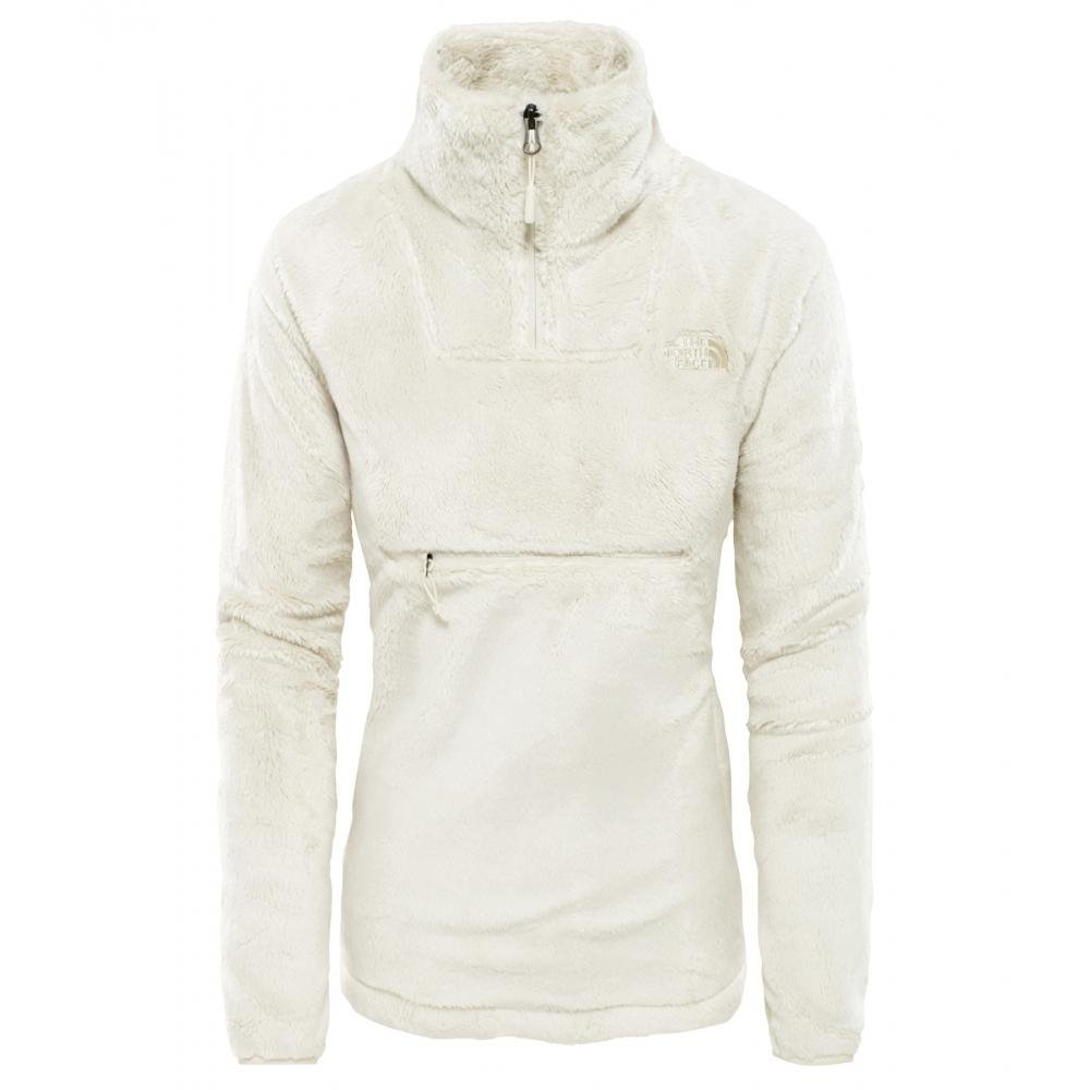 b89c20a6b4ce The North Face Osito Sport Hybrid Womens 1 4 Zip in White - Lyst
