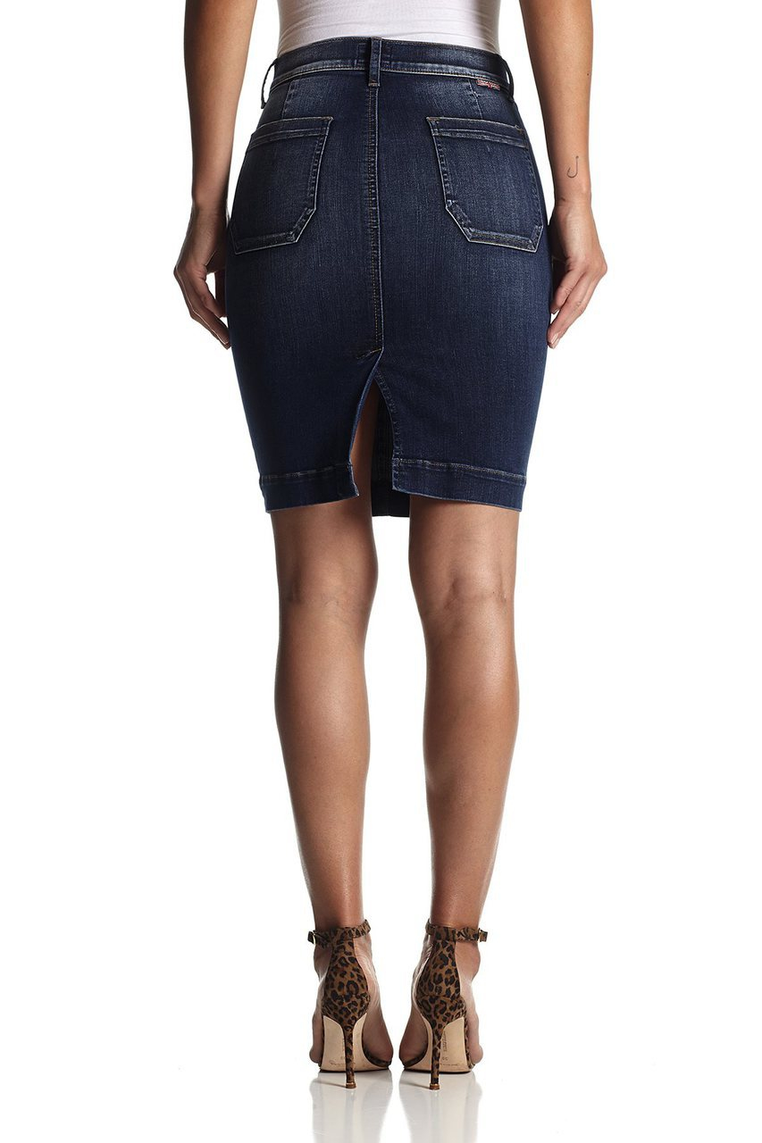 hudson fiona sailor pencil skirt in free state in