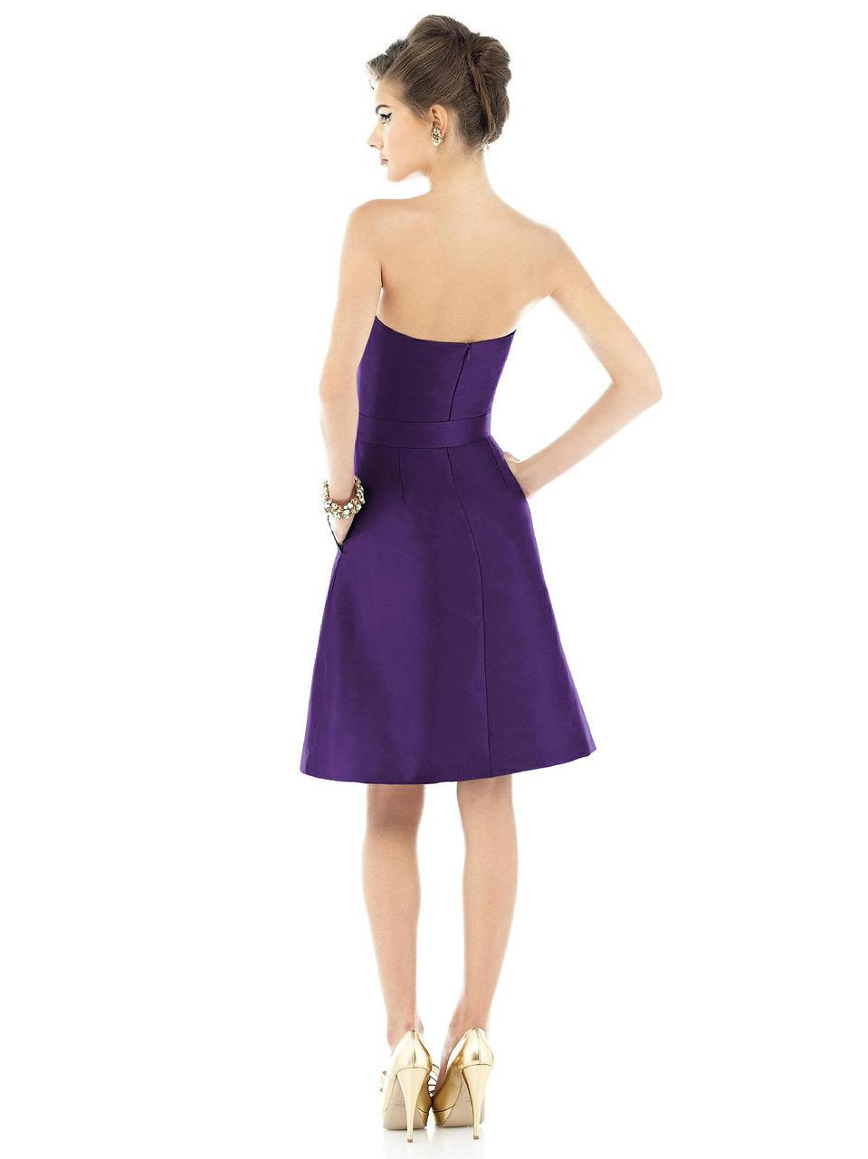 Lyst - Alfred sung D Bridesmaid Dress In Majestic in Purple