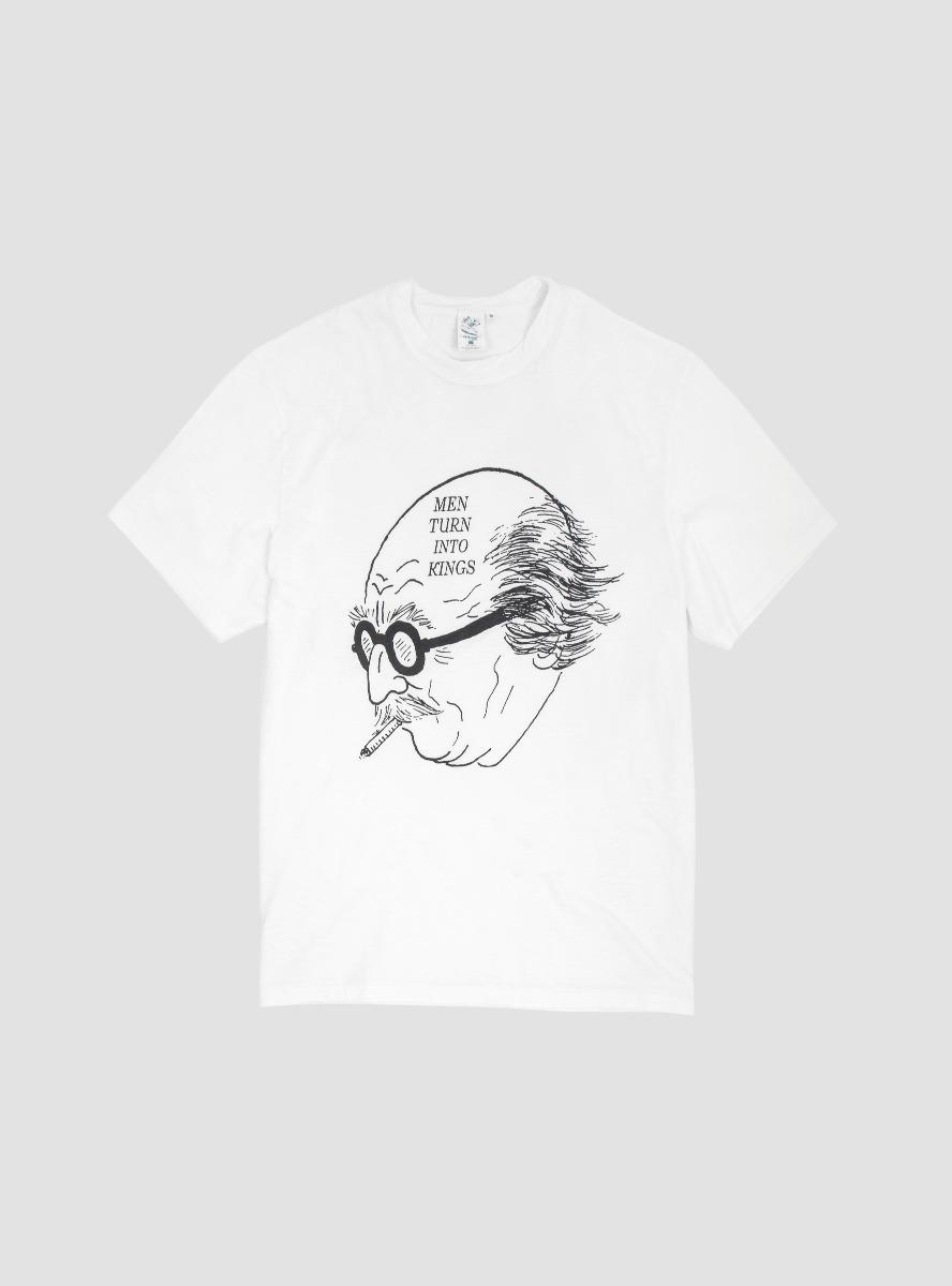 6f56a274f2932 Garbstore Old Man T-shirt in White for Men - Lyst