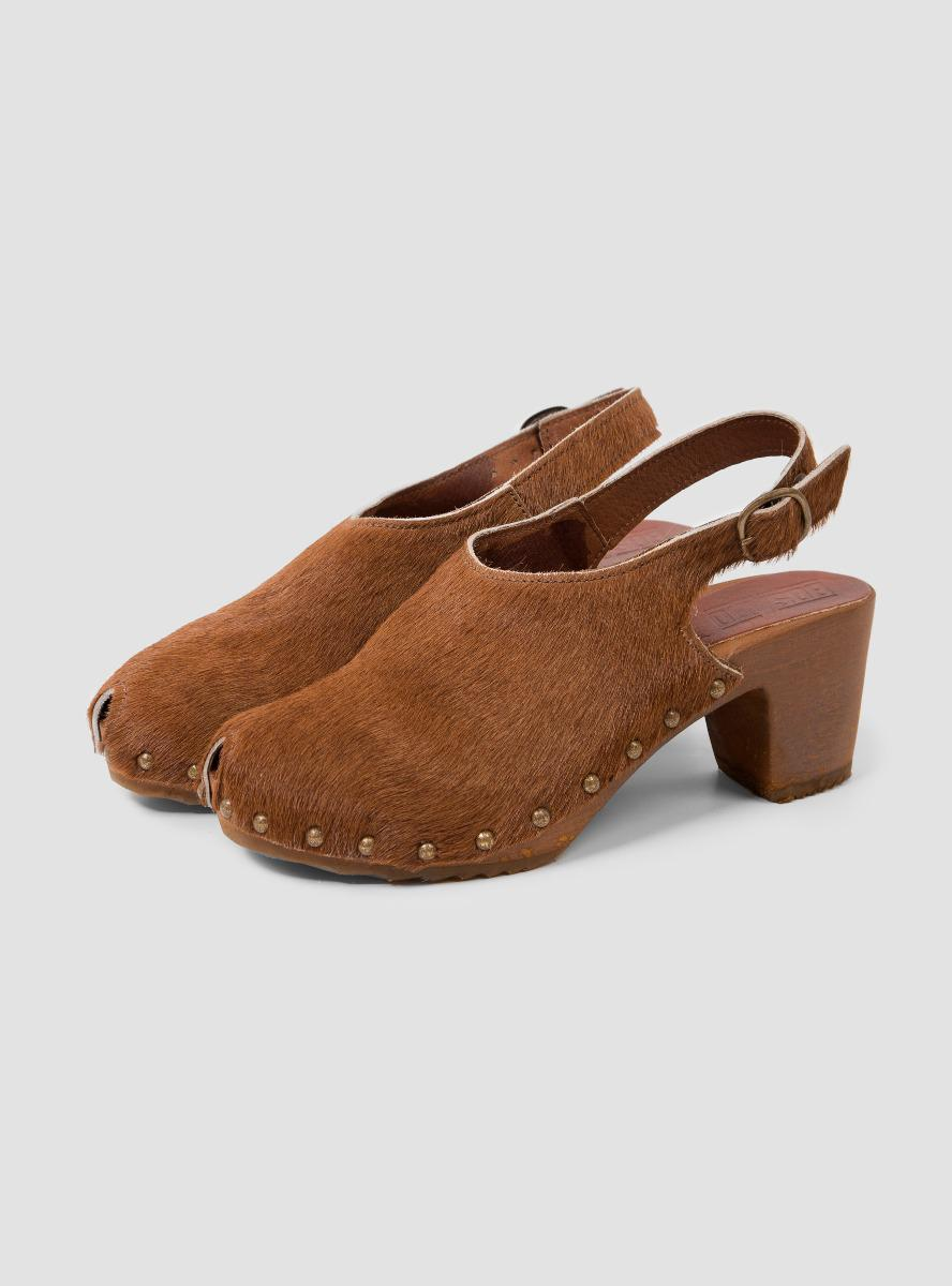 With Back Bosabo Shoes Straps in Brown Lyst 4zwSZPxq