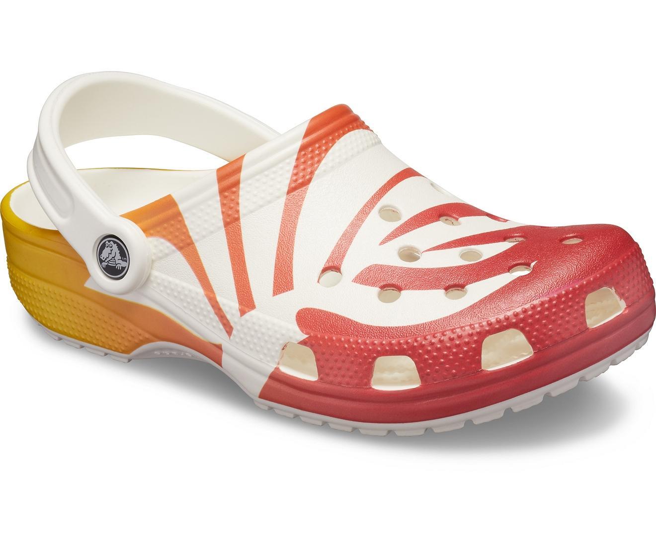 21096bb01 Lyst - Crocs™ Classic Seasonal Graphic Clog in White