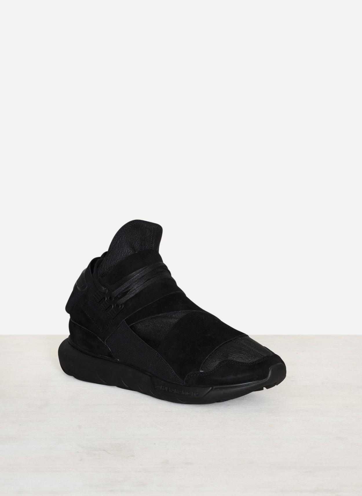 beeb42ee65da0 Lyst - Y-3 Leather Qasa High for Men