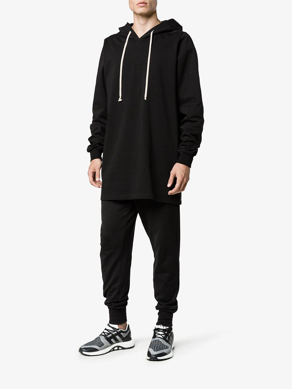 adidas Pureboost Core Black White Sneaker in Black Lyst