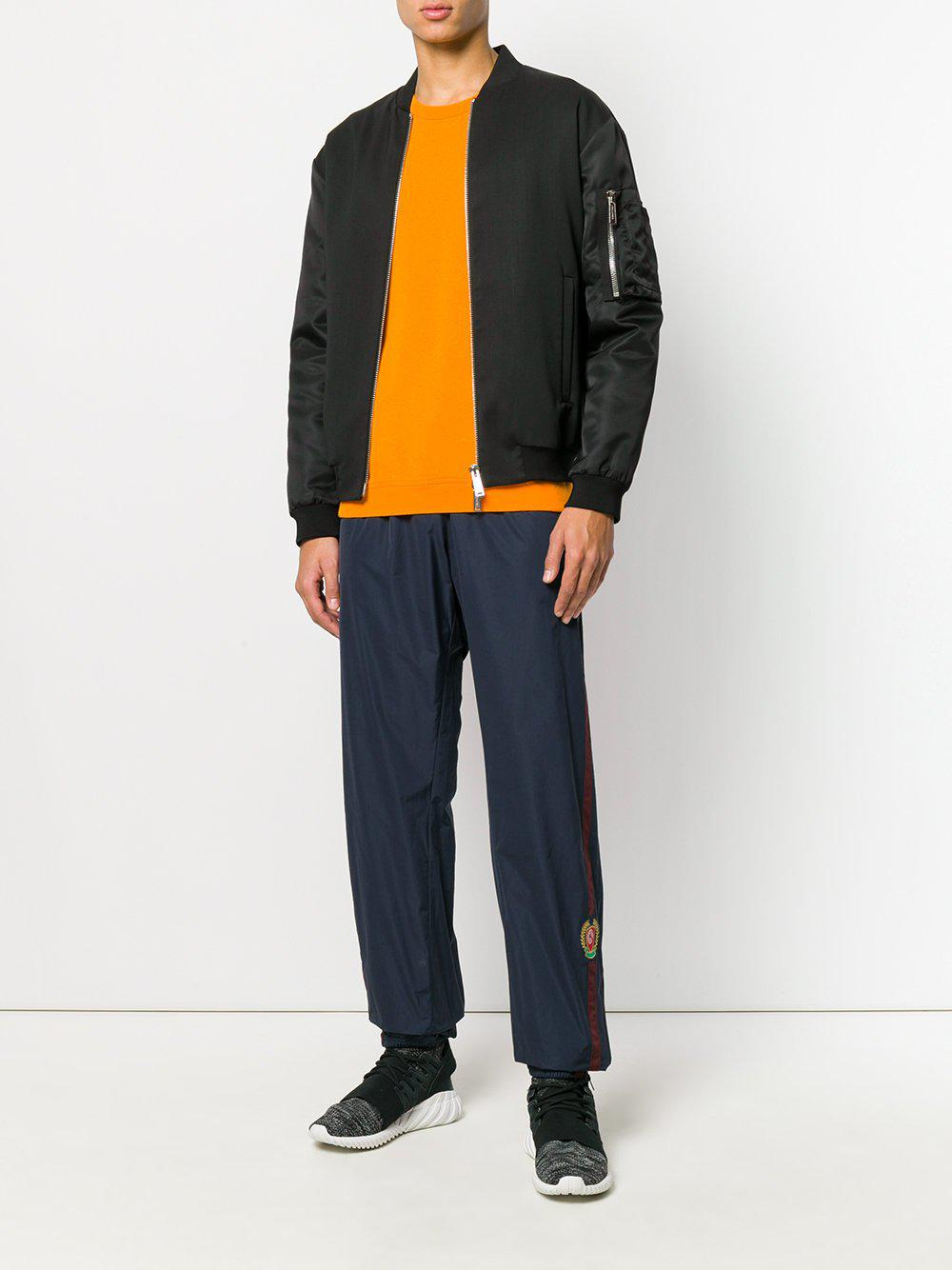 707fdc76 Yeezy Calabasas Crest Trackpants Luna in Blue for Men - Lyst