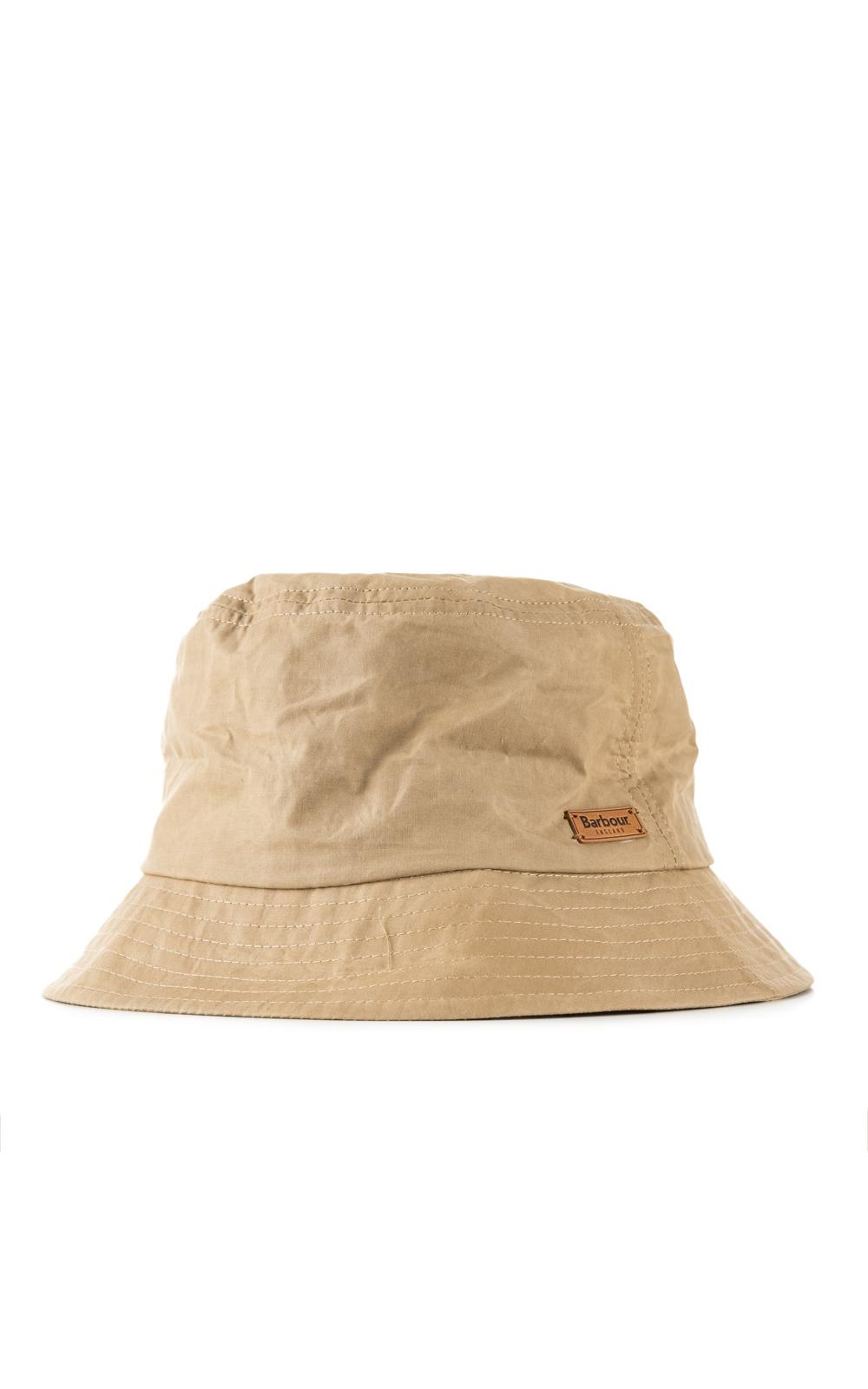 d9ca9eaa061 Lyst - Barbour Irvine Wax Sports Hat Mid Khaki in Natural for Men