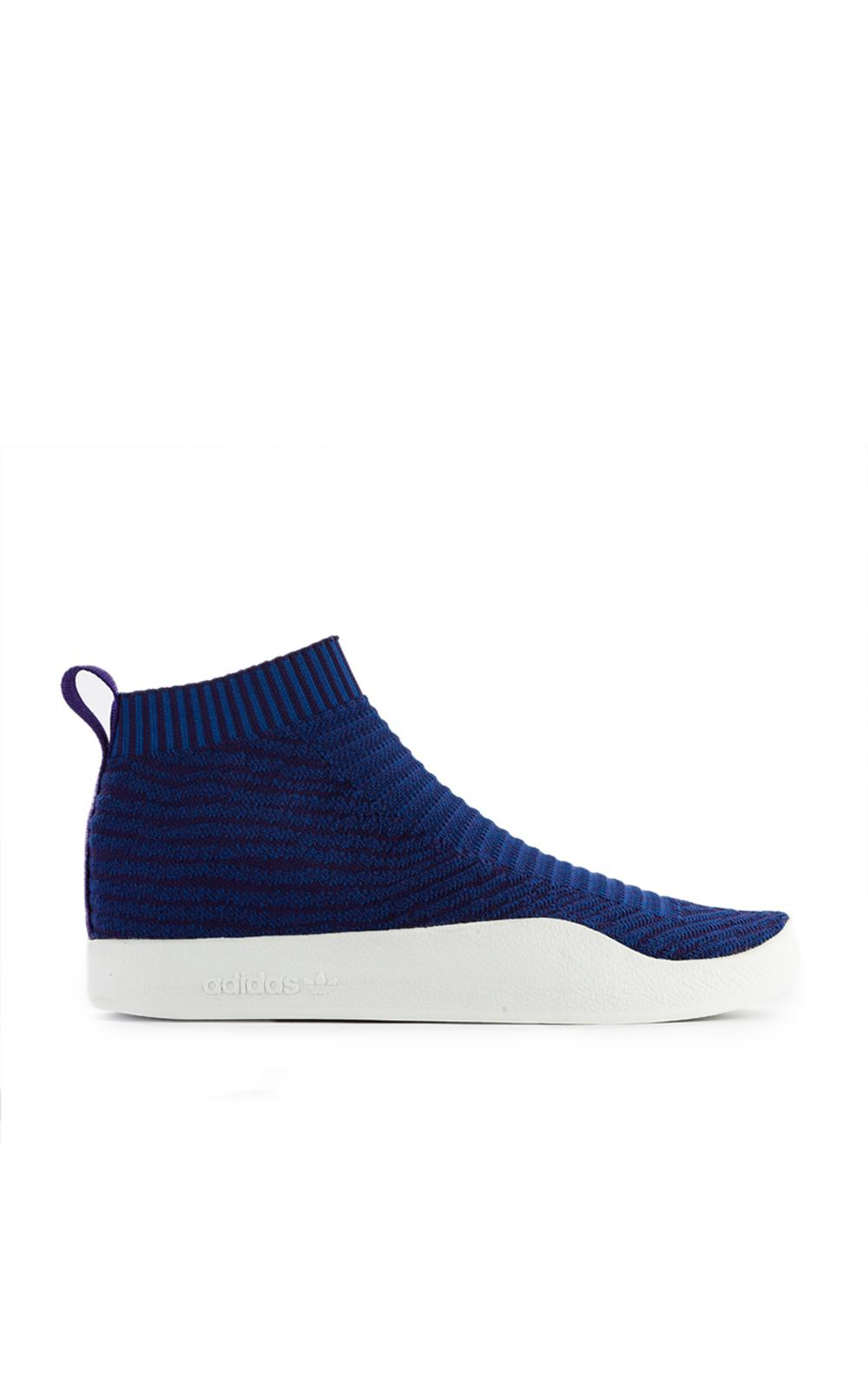 hot sale online 40182 a8846 Lyst - adidas Originals Adilette Pk Sock Blue in Blue for Me