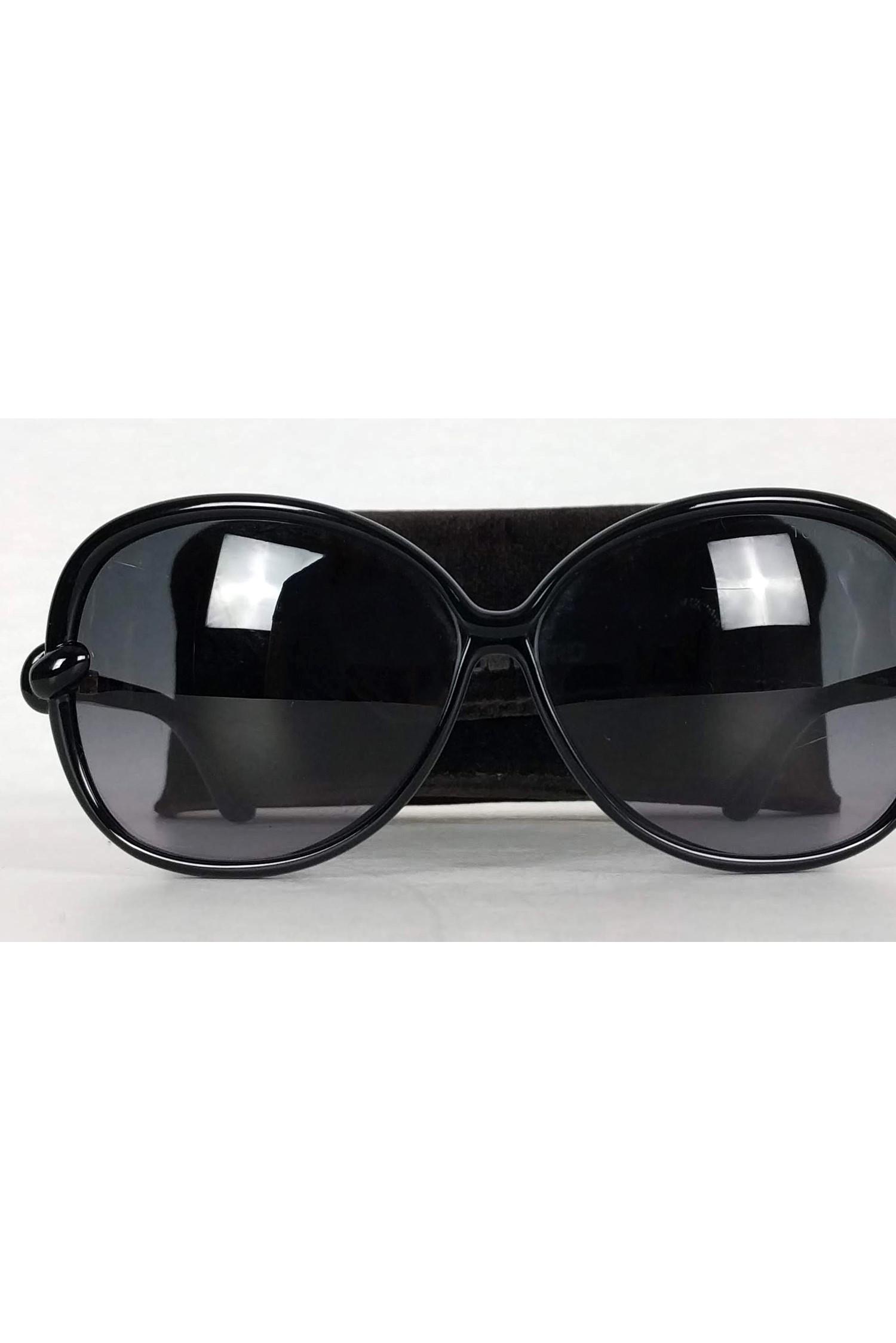 fb55eb8c62 Tom Ford - Black Ingrid Sunglasses - Lyst. View fullscreen
