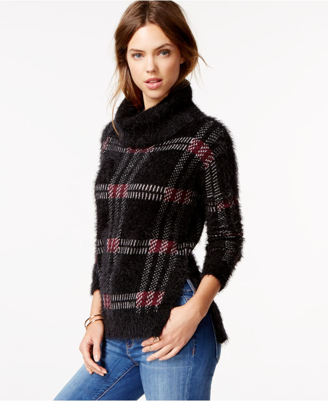 Navy Cable Knit Sweater