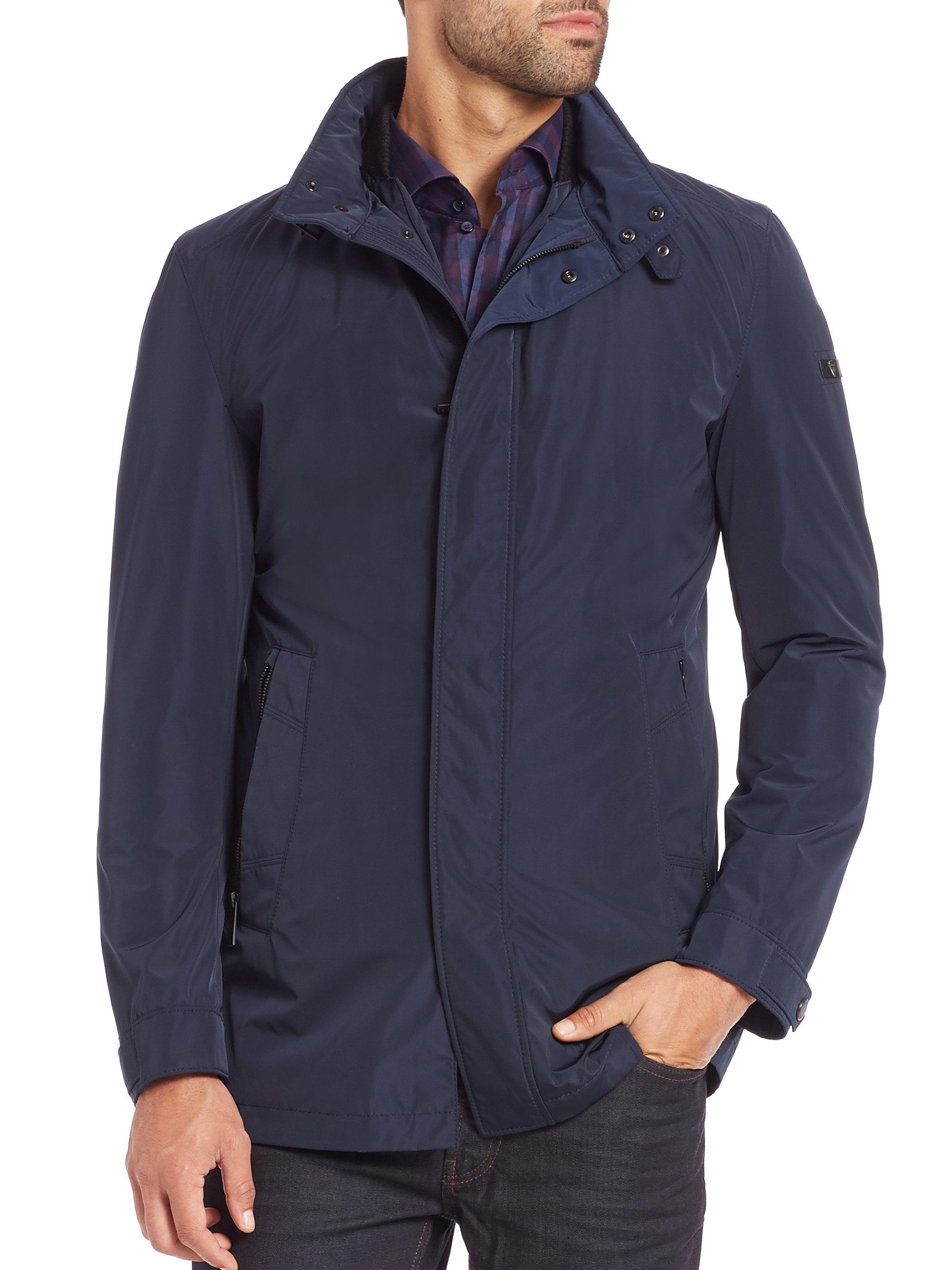 Lyst Strellson Lightweight Jacket In Blue For Men