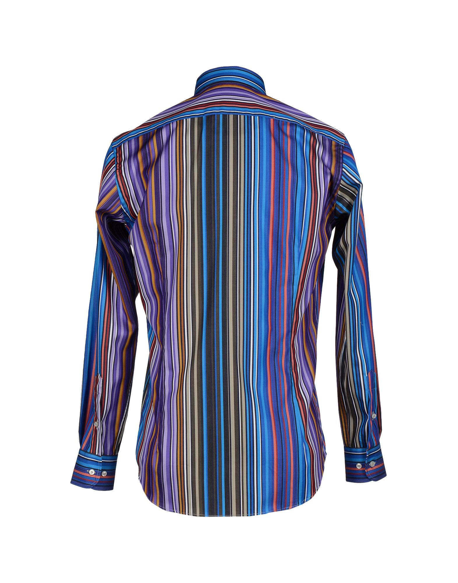 Lyst etro shirt in purple for men for Etro men s shirts