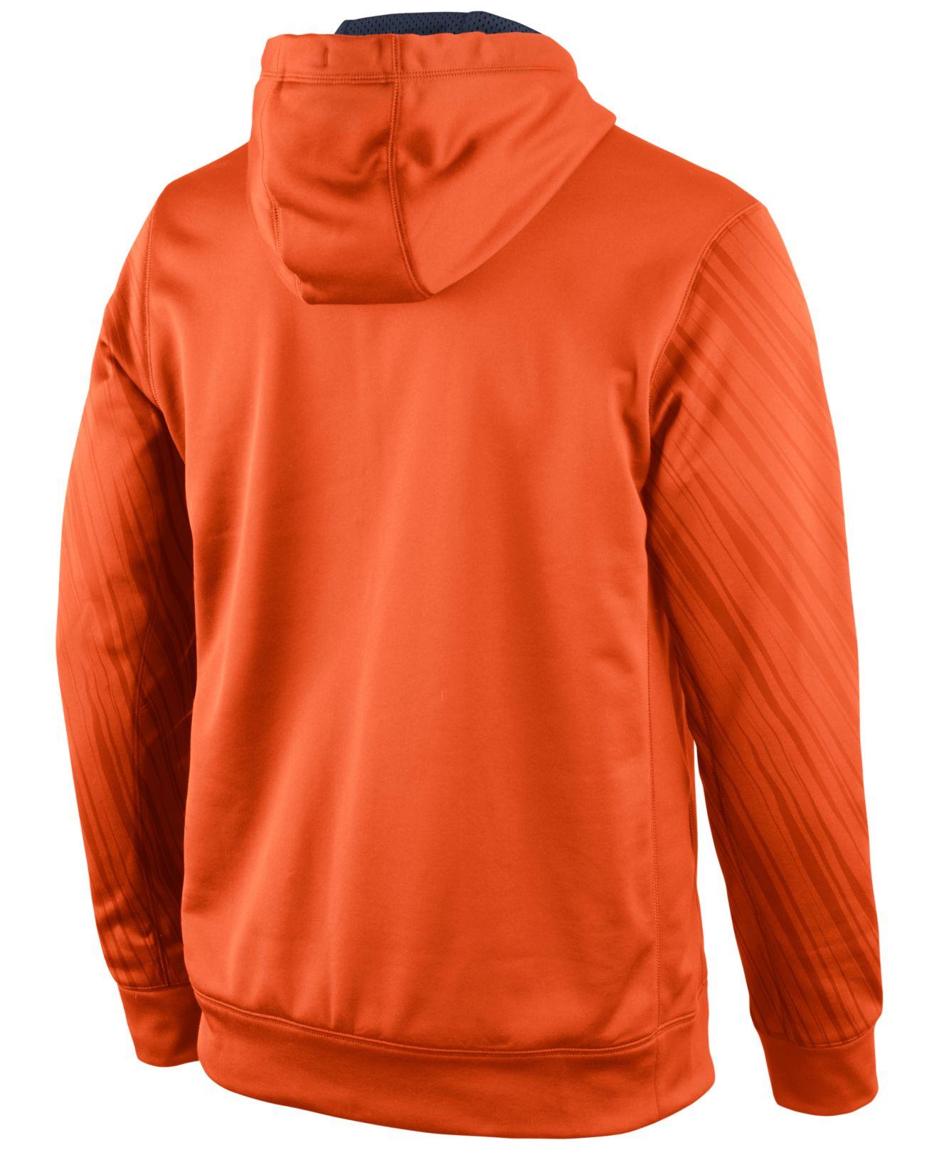 Nike Men'S Detroit Tigers Speed Ko Hoodie in Orange for Men | Lyst