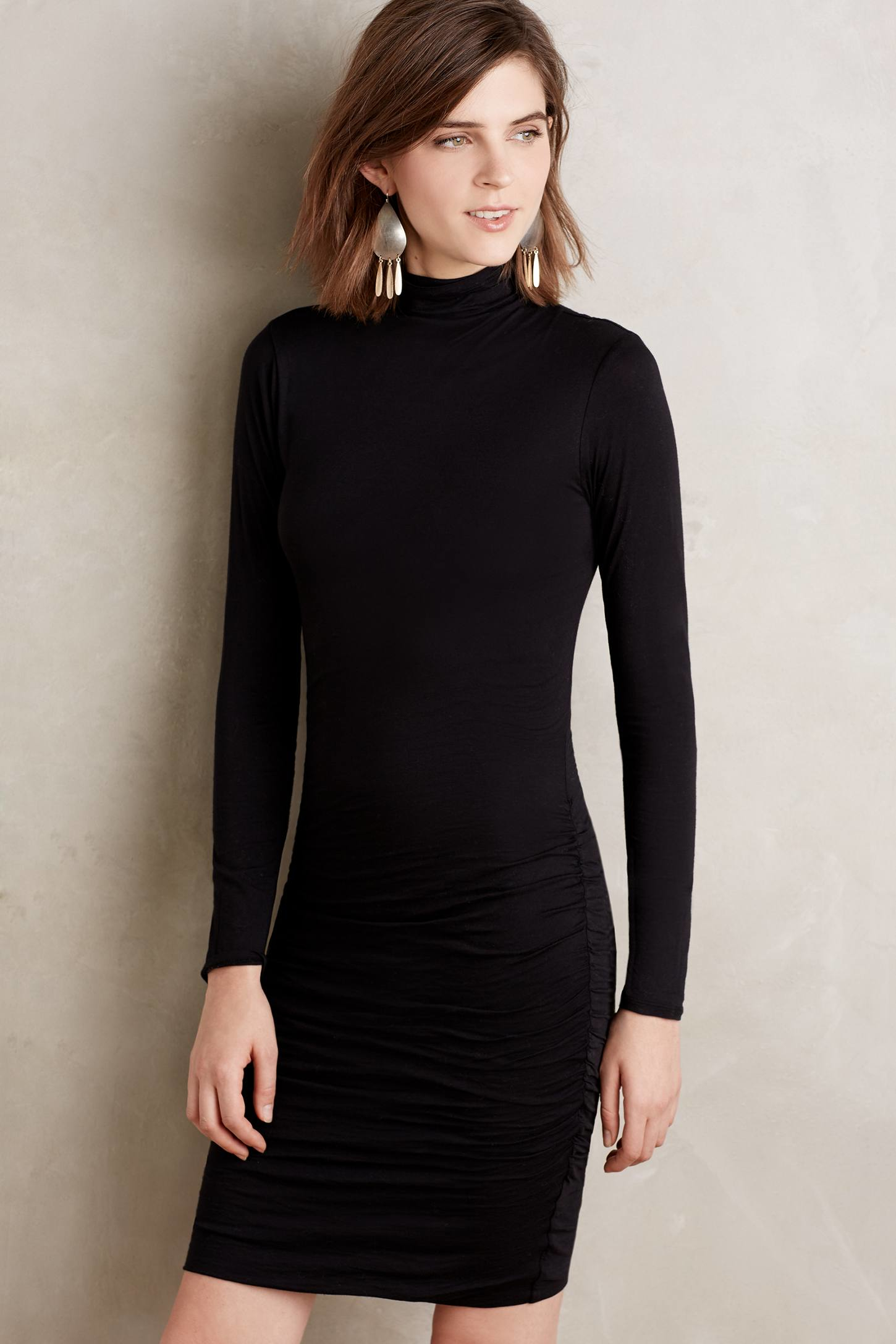 Lyst Velvet By Graham Amp Spencer Adair Turtleneck Dress