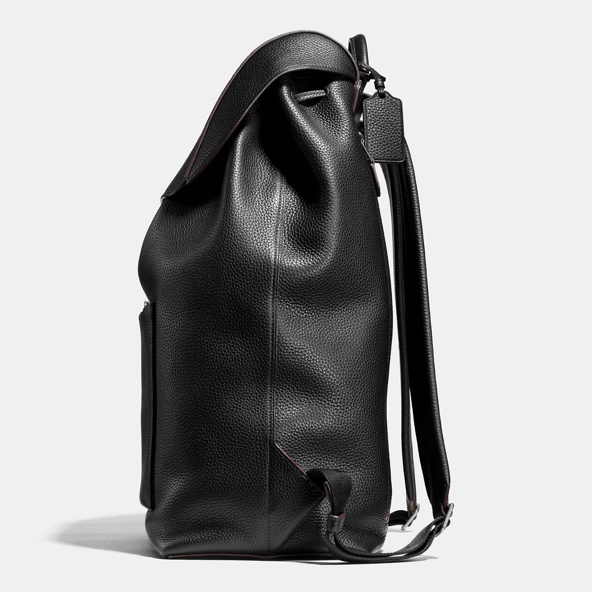 Coach Large Manhattan Backpack In Pebble Leather | Lyst