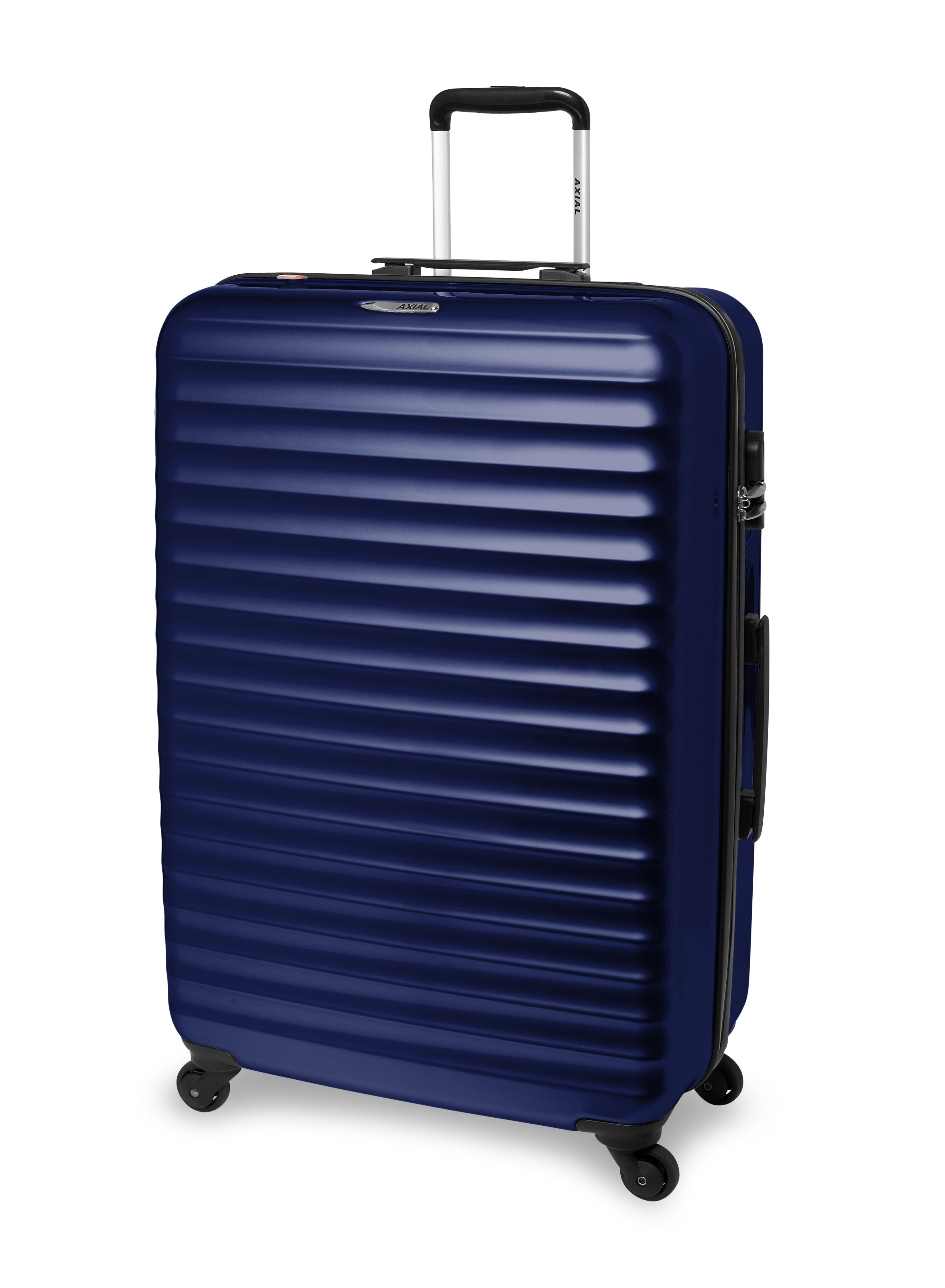 Delsey Axial Blue 4 Wheel Hard Large Suitcase in Blue for Men | Lyst
