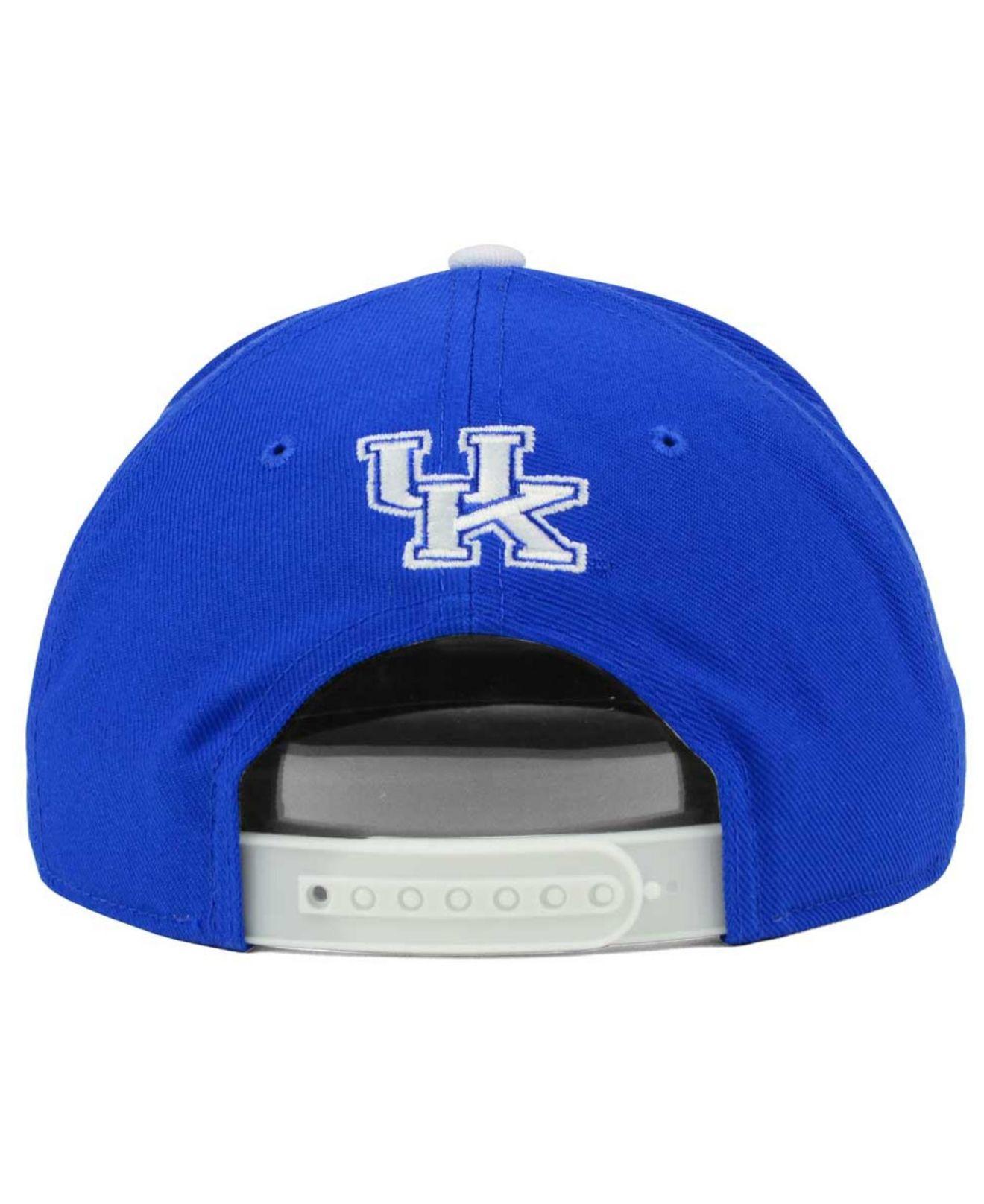 e0b131cd223 ... vapor performance fitted hat 13323 6114b  closeout lyst nike kentucky  wildcats true hardwood seasonal cap in blue for men 53470 4cc40