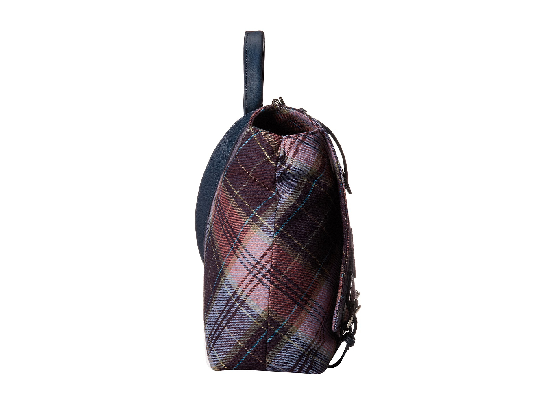 2ee465d1f25f Lyst - Vivienne Westwood New Tartan Positano Bag in Pink for Men