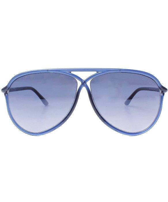 Dark Blue Aviator Sunglasses