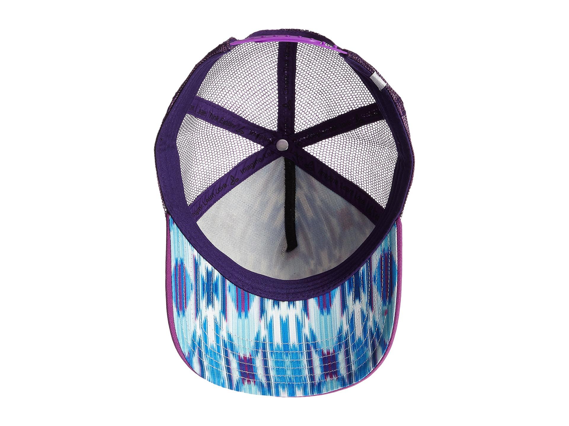 4e356aaaa9f Lyst - Prana La Viva Trucker Hat in Blue