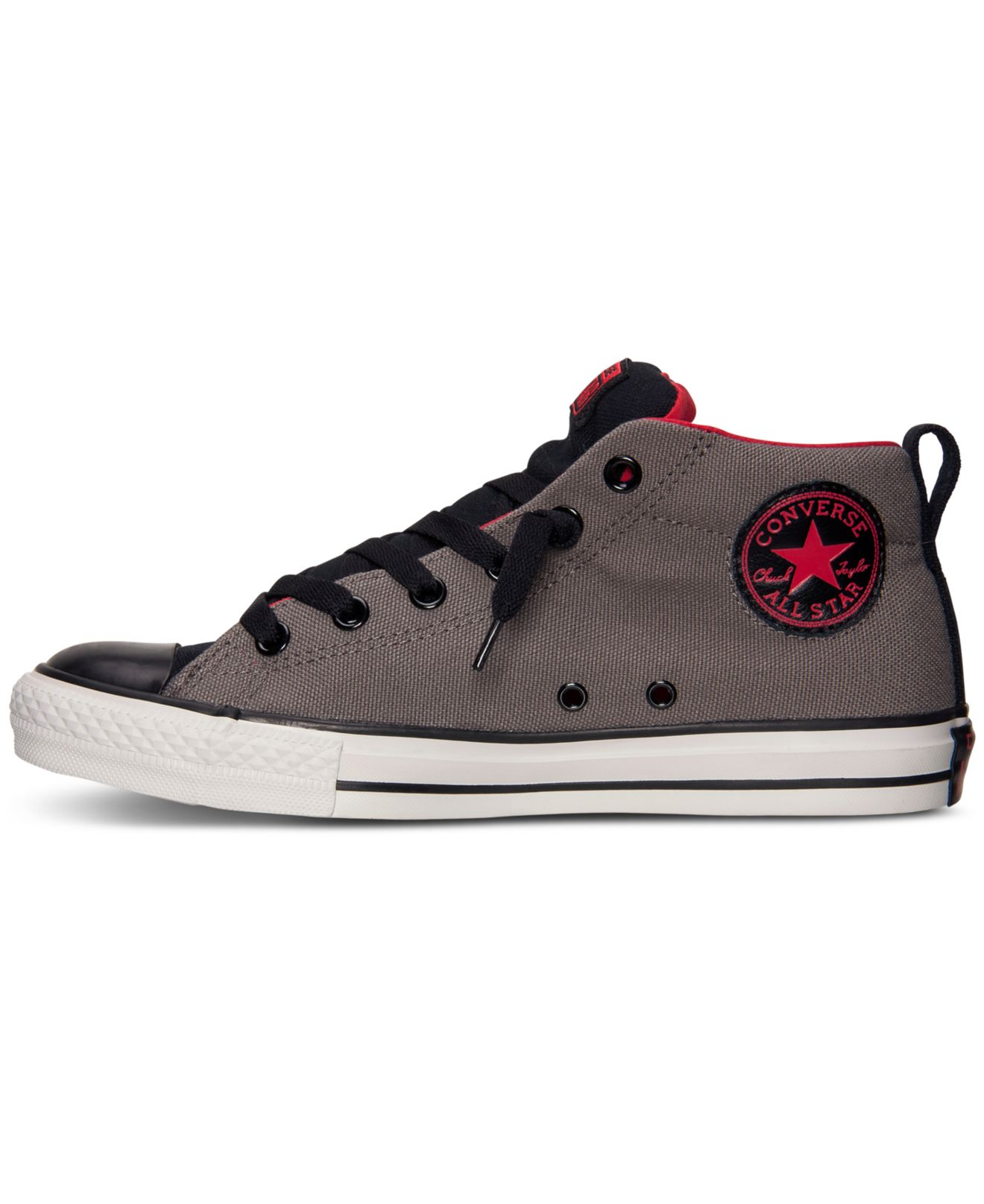 a5077cf1bd98 Lyst - Converse Men S Chuck Taylor Street Mid Casual Sneakers From ...