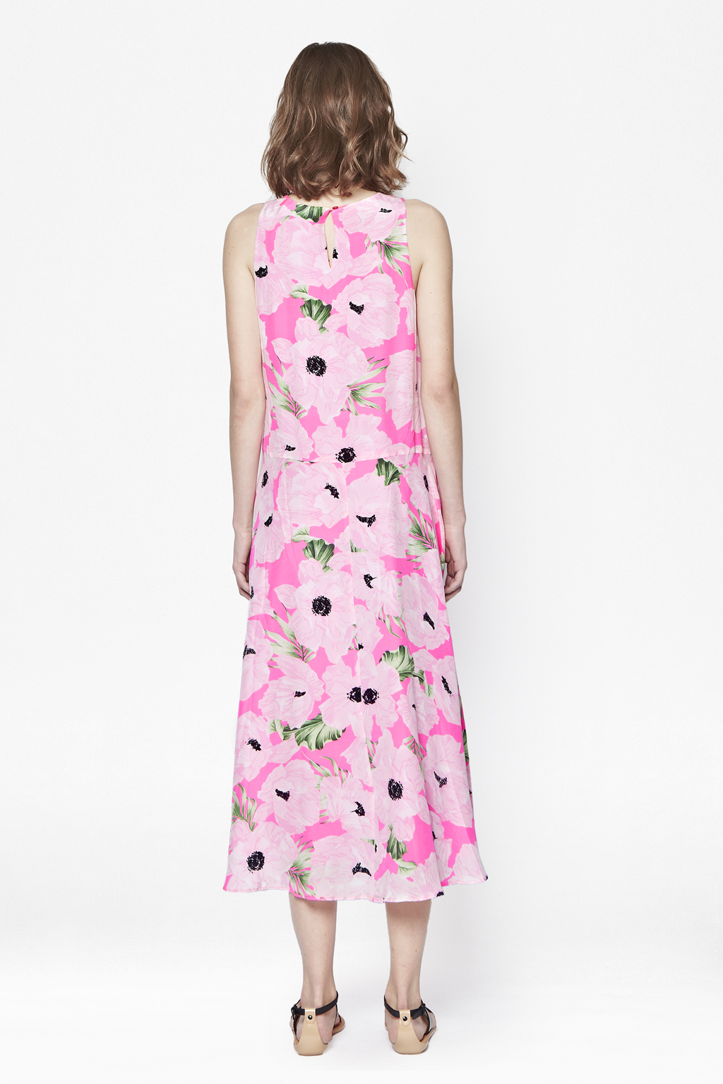 6a74c202d3 Lyst - French Connection Holiday Poppy Silk Maxi Dress