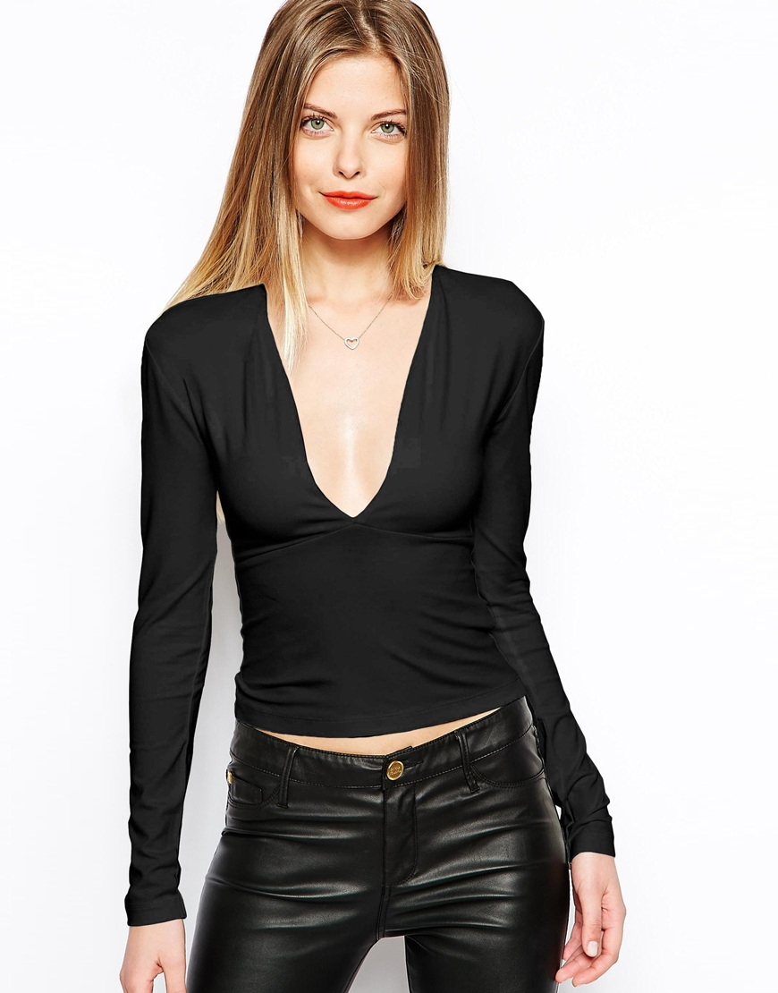 Shop Target for Deep V neck Tops you will love at great low prices. Spend $35+ or use your REDcard & get free 2-day shipping on most items or same-day pick-up in store.