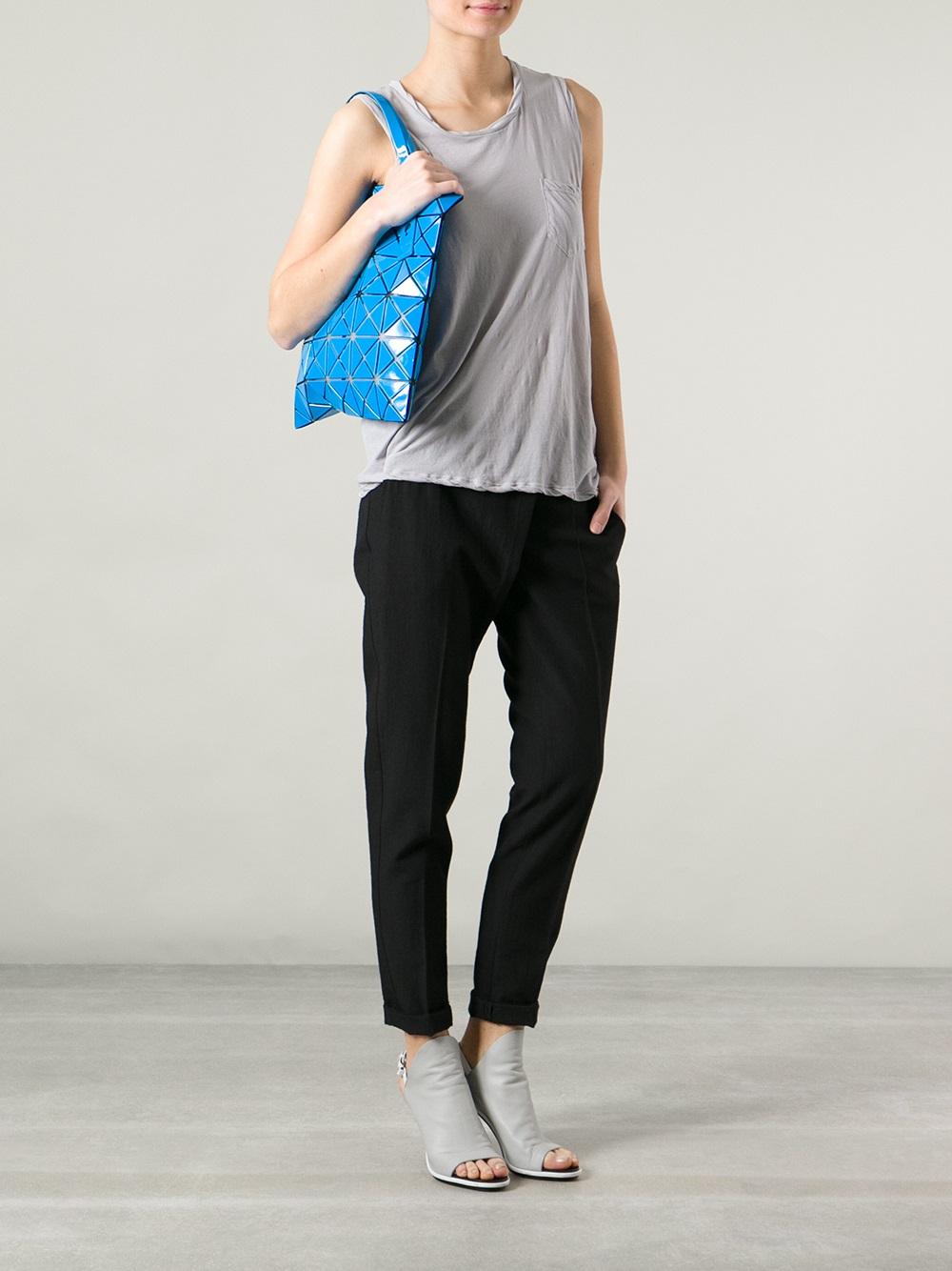 2798278ec2 Lyst - Bao Bao Issey Miyake Tote Bag in Blue