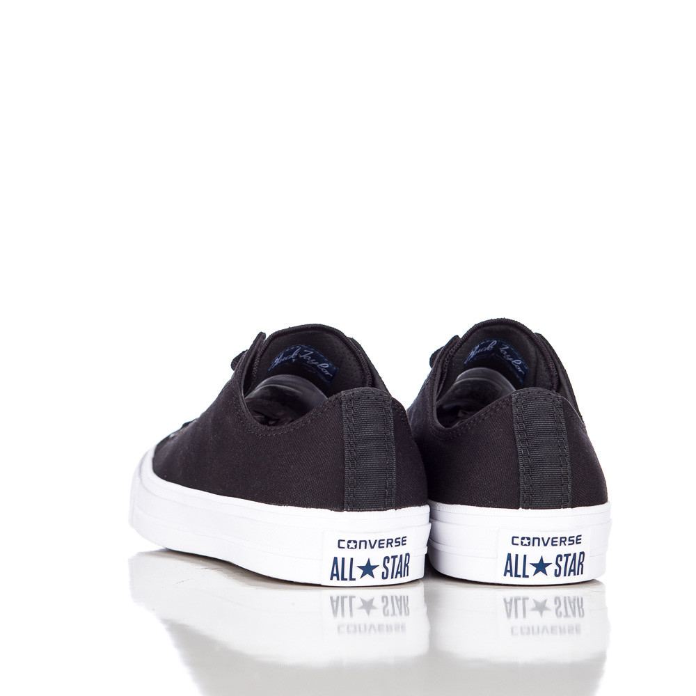Lyst - Converse Chuck Taylor All Star Ii Ox Low In Black white navy in Blue  for Men 6475c198b