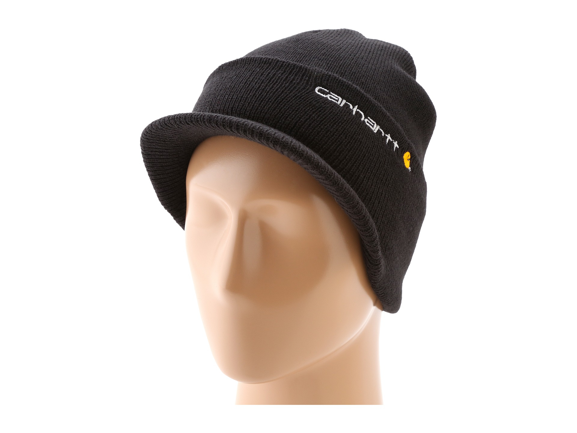 Lyst Carhartt Knit Hat With Visor In Black For Men