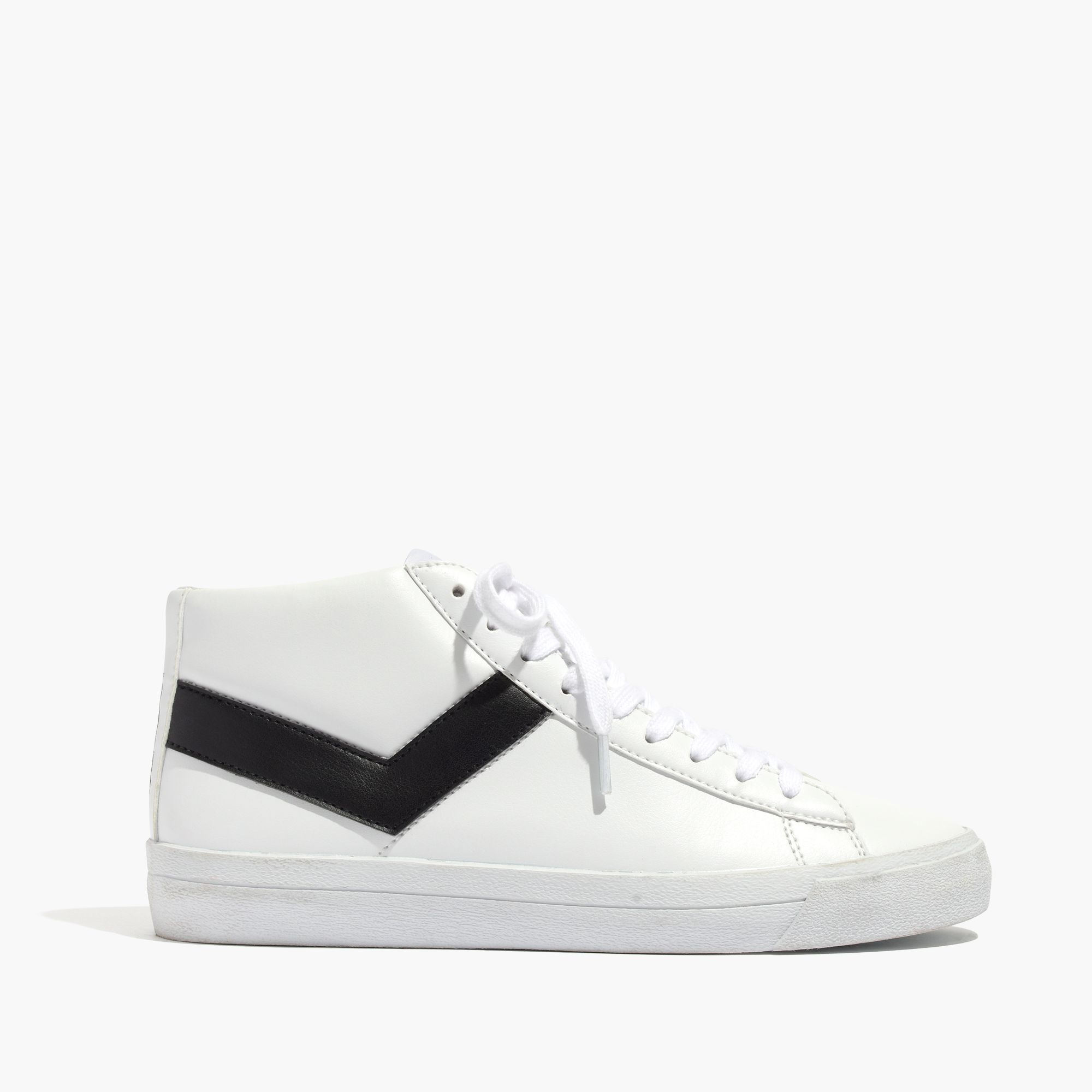 madewell pony 174 topstar hi high top sneakers in white lyst
