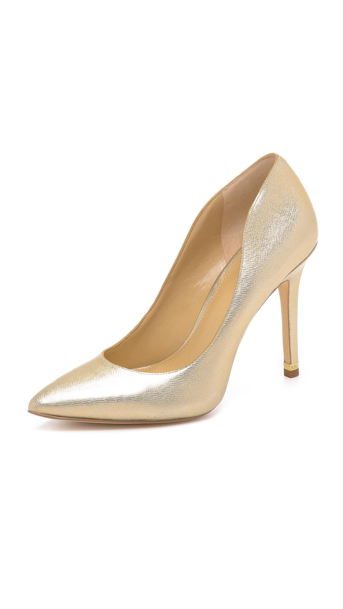 Pale Gold Heels - Is Heel
