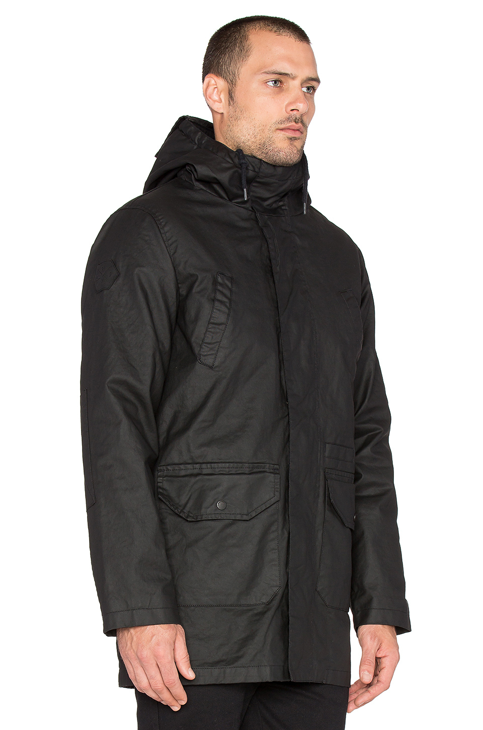 Bellfield Pinto 2 In 1 Parka With Bomber in Black for Men | Lyst