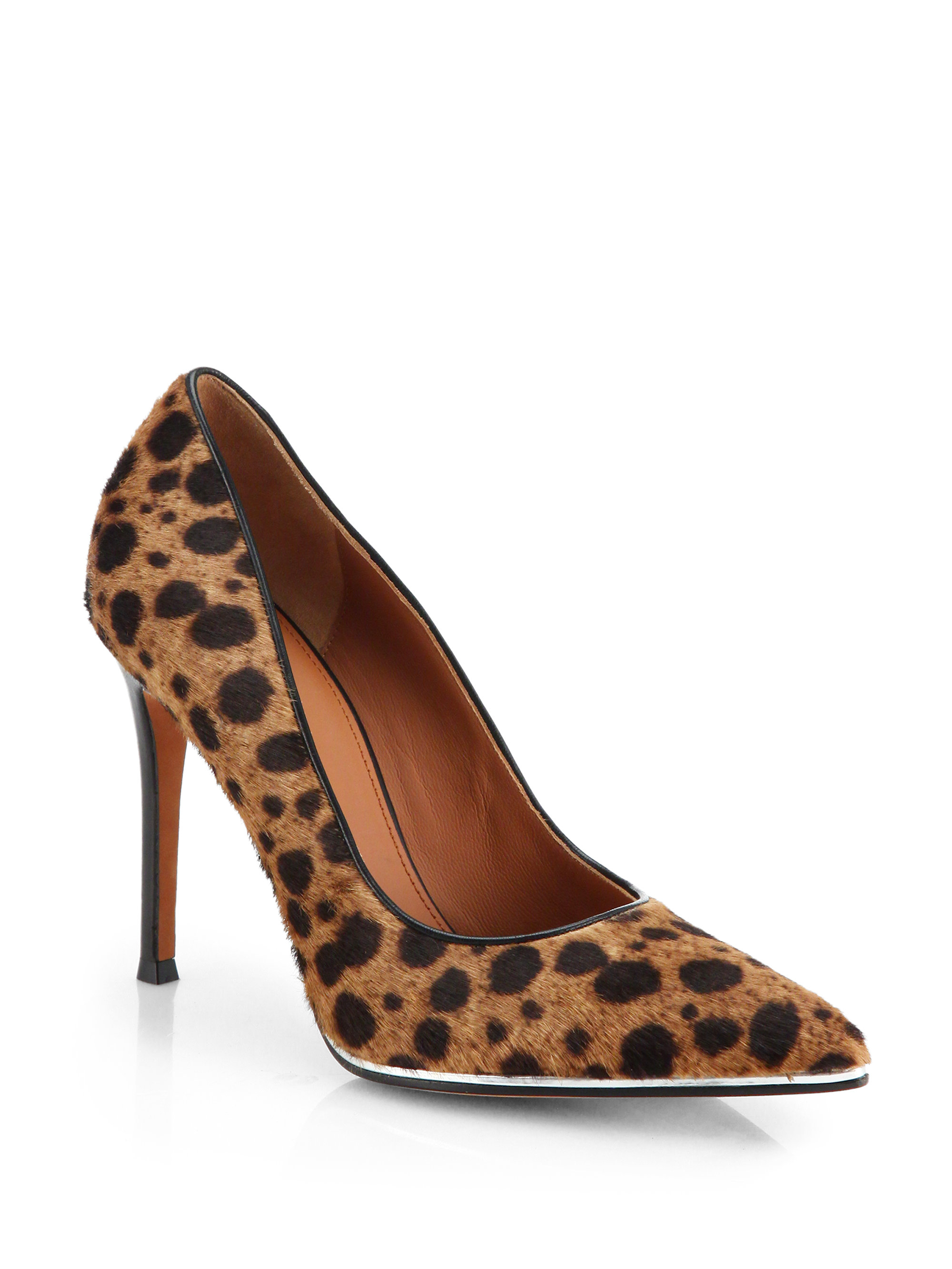 Givenchy Leopard Print Calf Hair Pumps Lyst