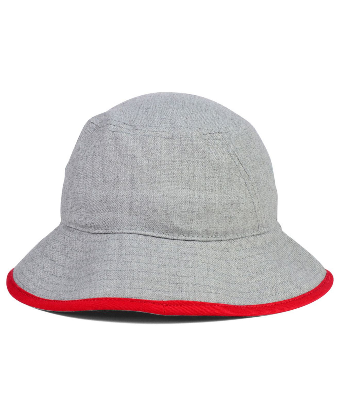 4e071528339 Lyst - KTZ Boston Red Sox Heather Tipped Bucket Hat in Gray for Men