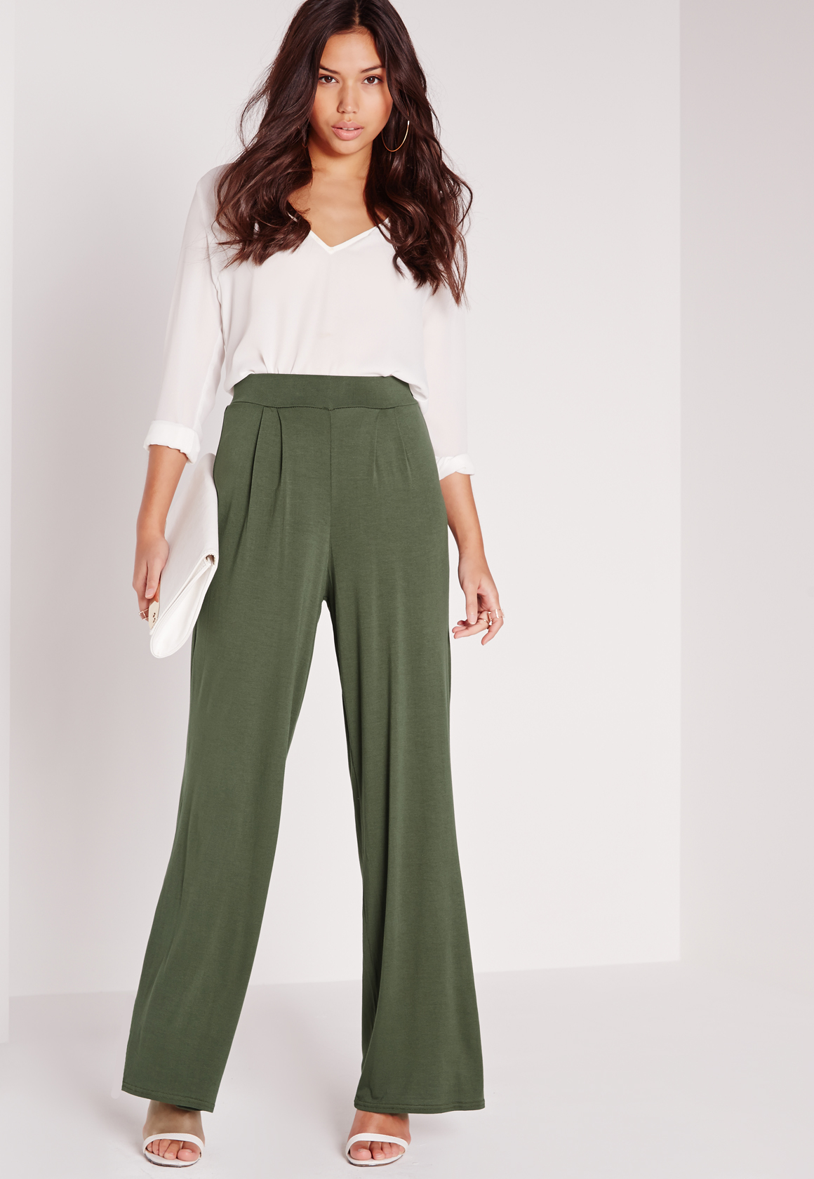 Find khaki wide leg from a vast selection of Women's Pants, Clothing, Shoes and Accessories. Get great deals on eBay!