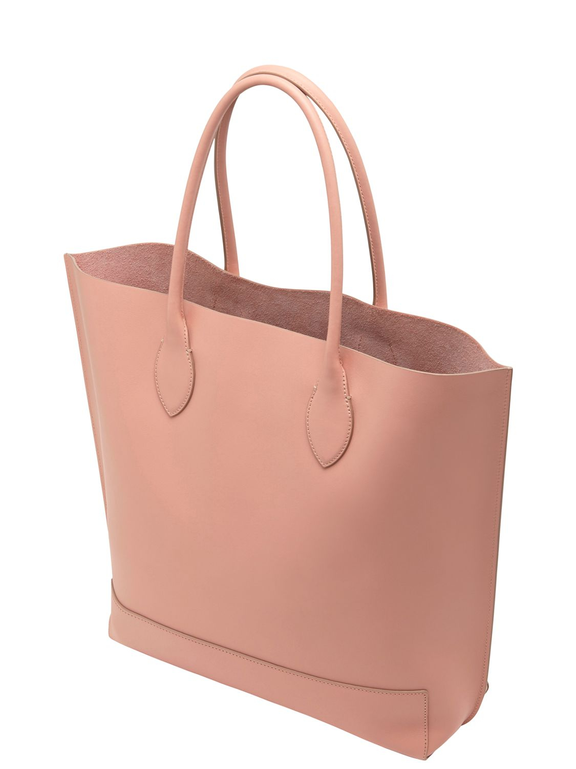 ... hot lyst mulberry blossom nappa leather tote bag in pink 2b5df c777f ba0e467edb3be