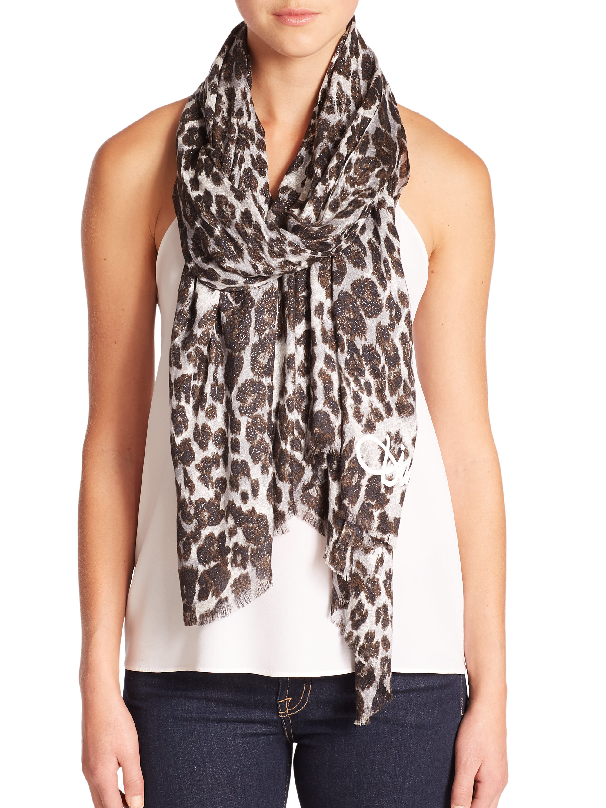 ACCESSORIES - Oblong scarves Diane Von F 0i12SGMojf